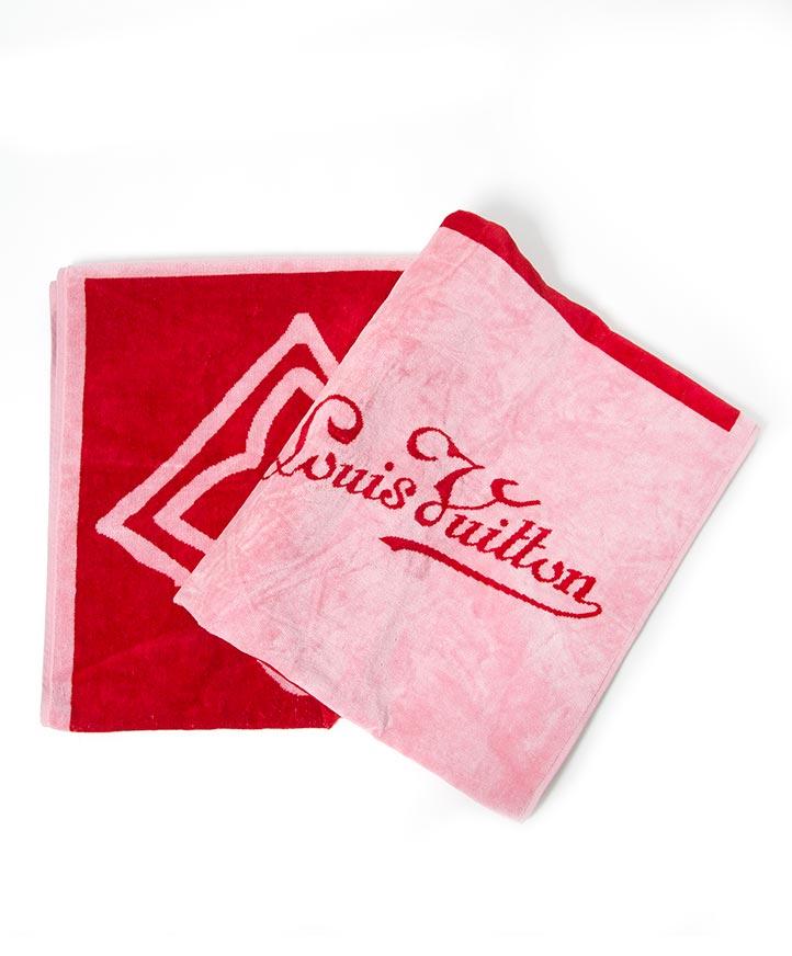 koop veilig tweedehands designer tweedehands Louis Vuitton handdoek