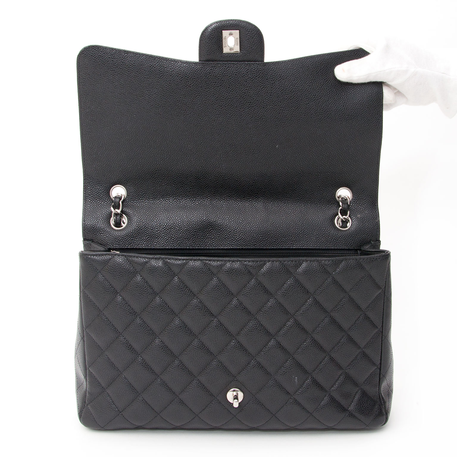 3a50eae96fa7 buy safe online secondhand designer chanel maxi classic single flap bacl  best price worldwide shipping acheter en ligne seconde main sac a main  chanel Maxi ...