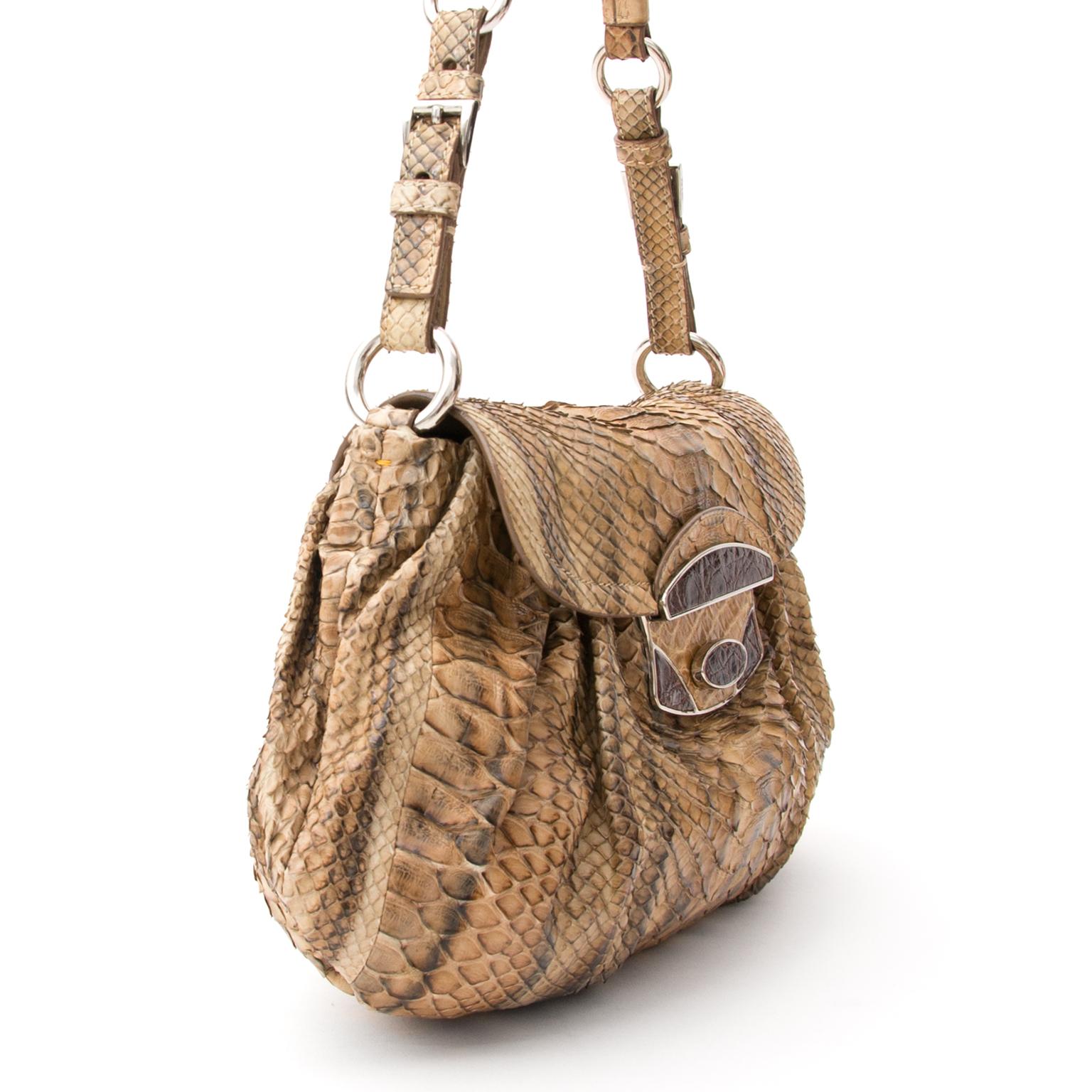 9847b4a14597 ... Chanel Prada Python Schoudertas, Voor designer merken zoals Louis  Vuitton, Hermes, Chanel, Delvaux
