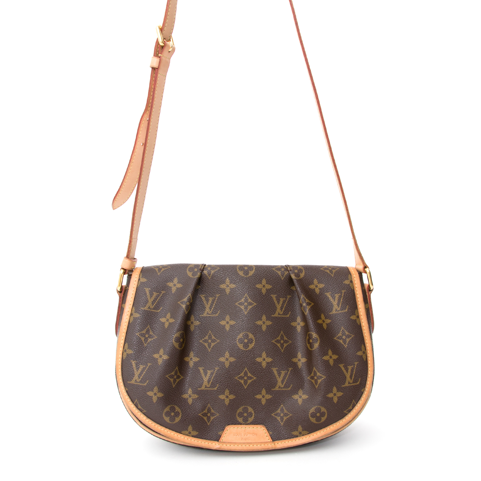 2709f8909c34 Louis Vuitton Menilmontant PM shoulder bag that can also be worn crossbody.  This bag is