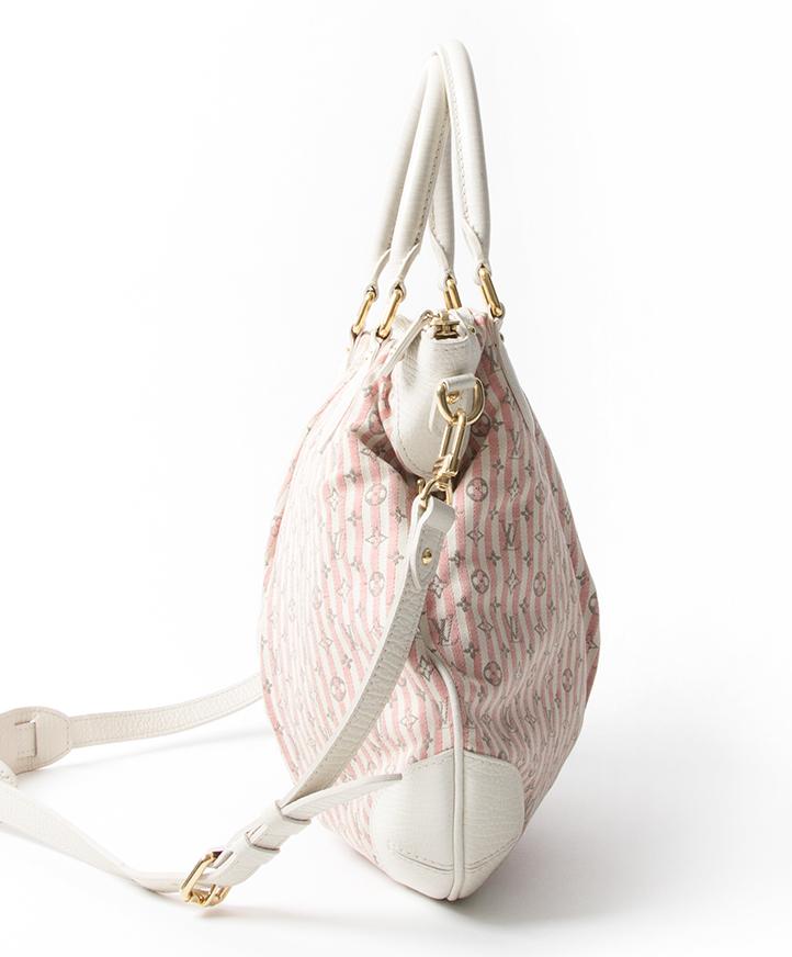 02ff019547ef ... bags fashion safe online shopping Louis Vuitton Monogram Mini Lin  Croisette Marina PM Rouge seconde main authentique sacs luxe exclusive  designer