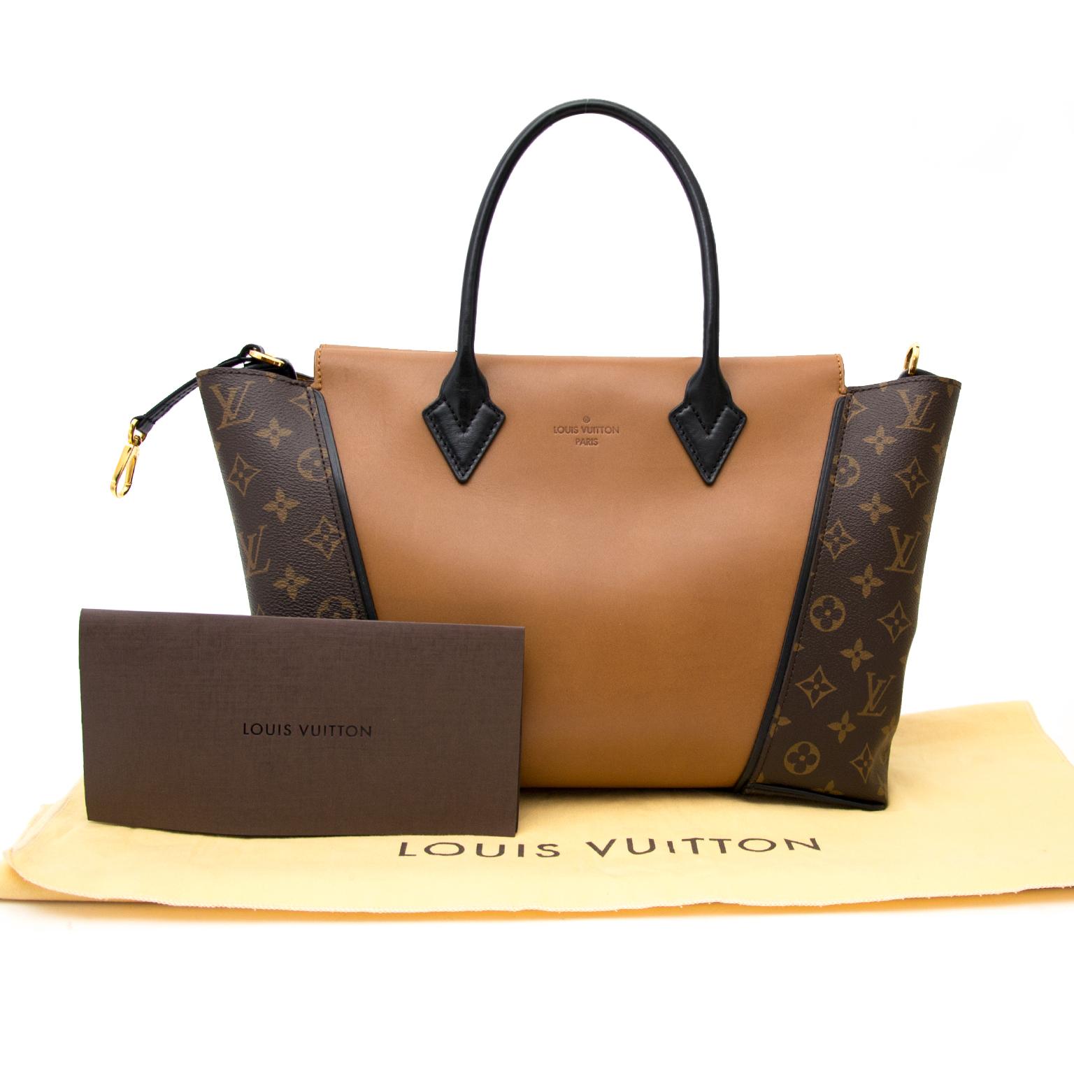 350a2256cd6 ... shop safe online secondhand Louis Vuitton Limited W Cuir Orfevre Tote  Noisette PM Bag online at