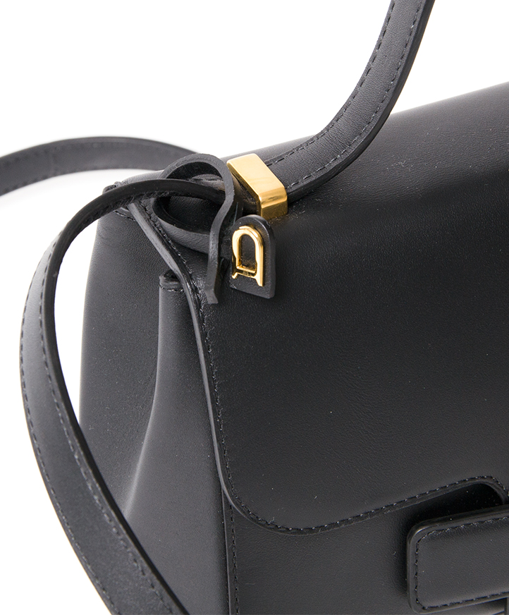 ... Delvaux Black Simplissime City PM Bag authentic secondhand safe online  shopping webshop fashion style LabelLOV Antwerp f59eeba8e7c96