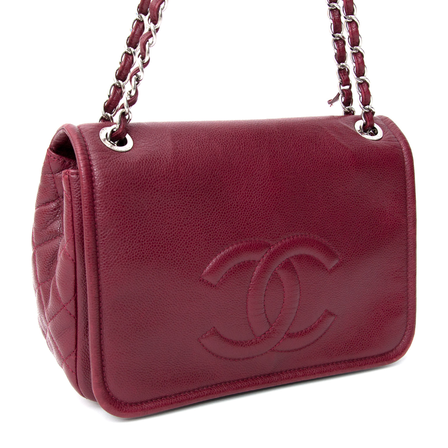 42740d215ea3 Buy safe online secondhand designer Chanel Red Caviar Timeless Chanel Red  Caviar Timeless CC Flap