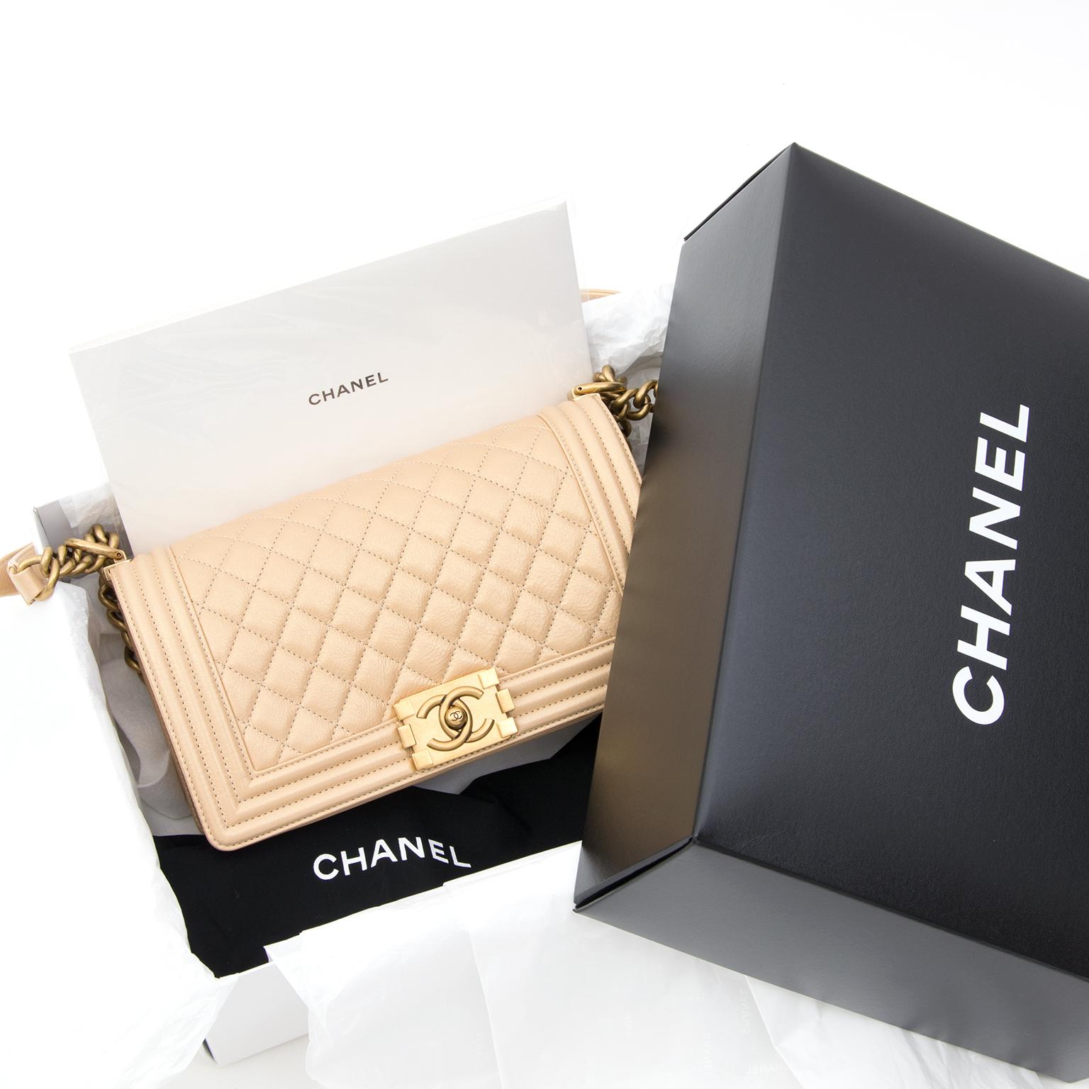 d9205dd04be2 ... instant luxe sac a main Chanel Boy comme neuf, 100% authentic site en  ligne