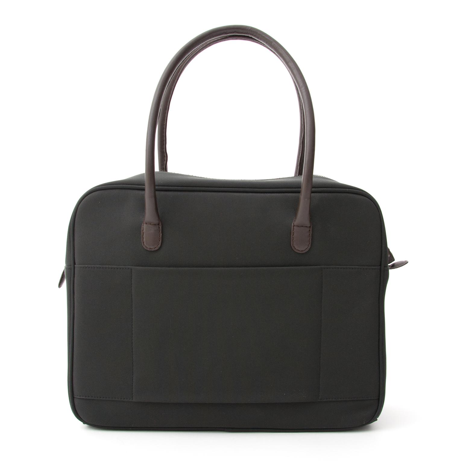 5540916f4cdb ... online winkel labellov seconde main Airess Shoulder Bag Canvas Koop  authentieke tweedehands Delvaux tassen voor de juiste prijs bij
