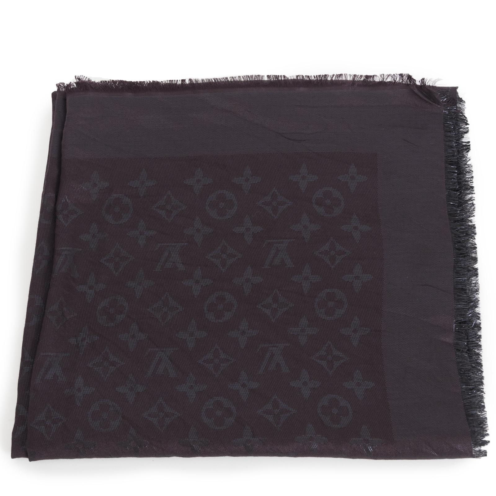 Louis Vuitton Monogram Scarf Amarante