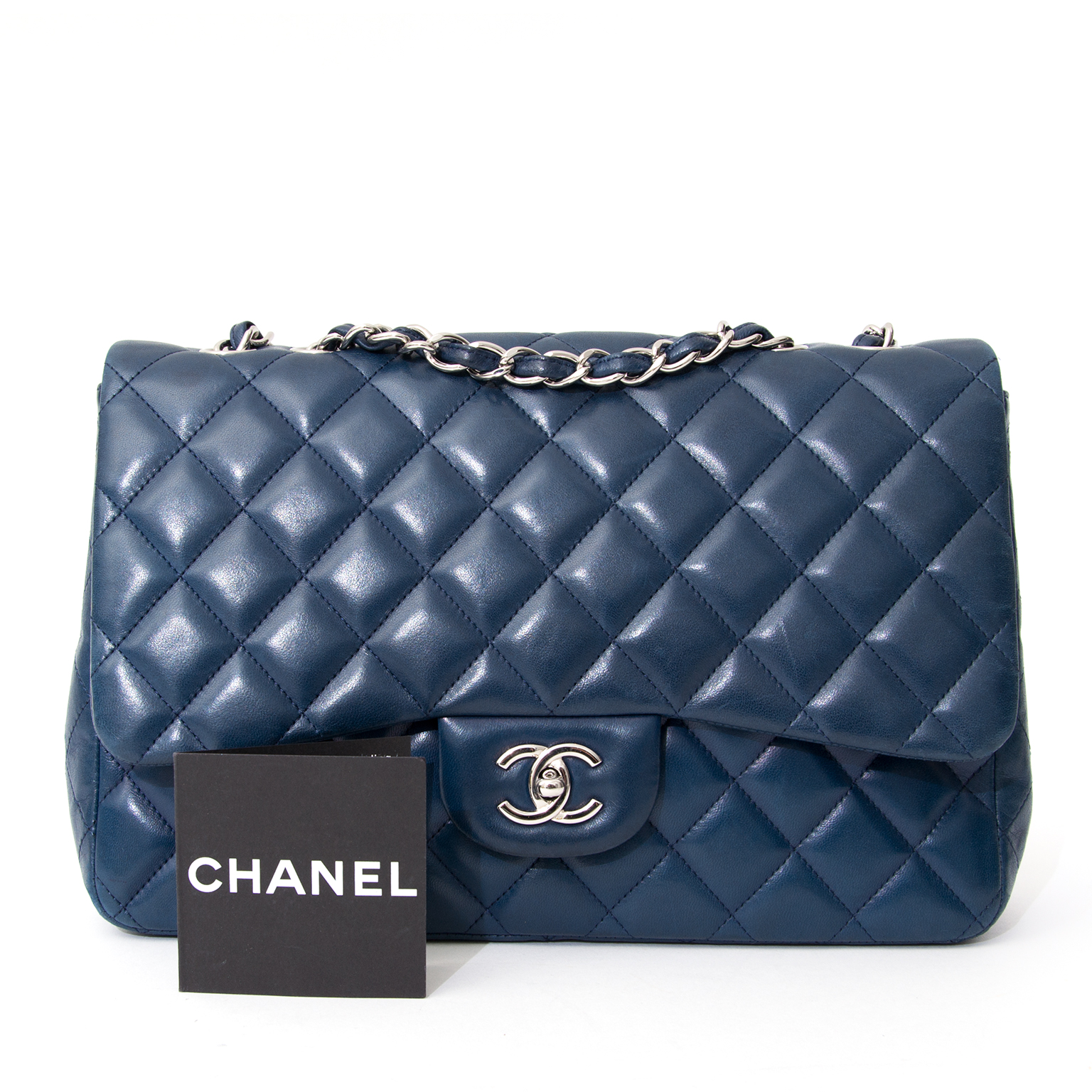 89f688397963 ... rea real second hand 100% authentic acheter safe et secure sac a main  Chanel Petrol