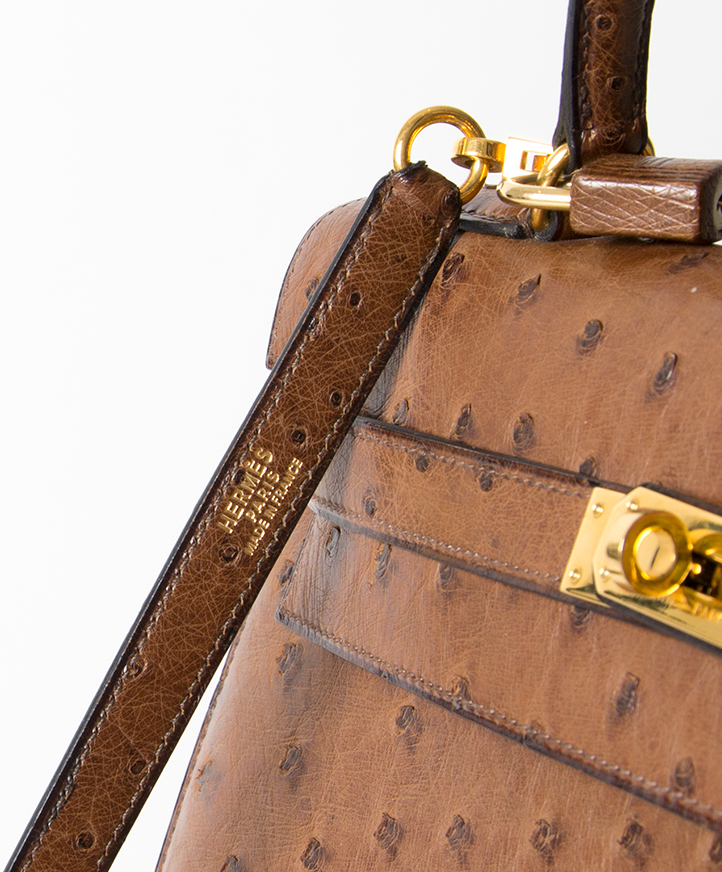 Hermès Kelly Bag Ostrich GHW With Strap acheter en ligne unique Hermes Kelly 32 comme neuf piece unique hermes site en ligne labellov