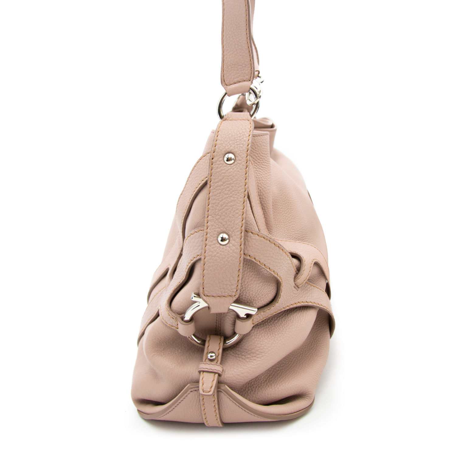 Salvatore Ferragamo rose sac a epole en ligne chez labellov.com