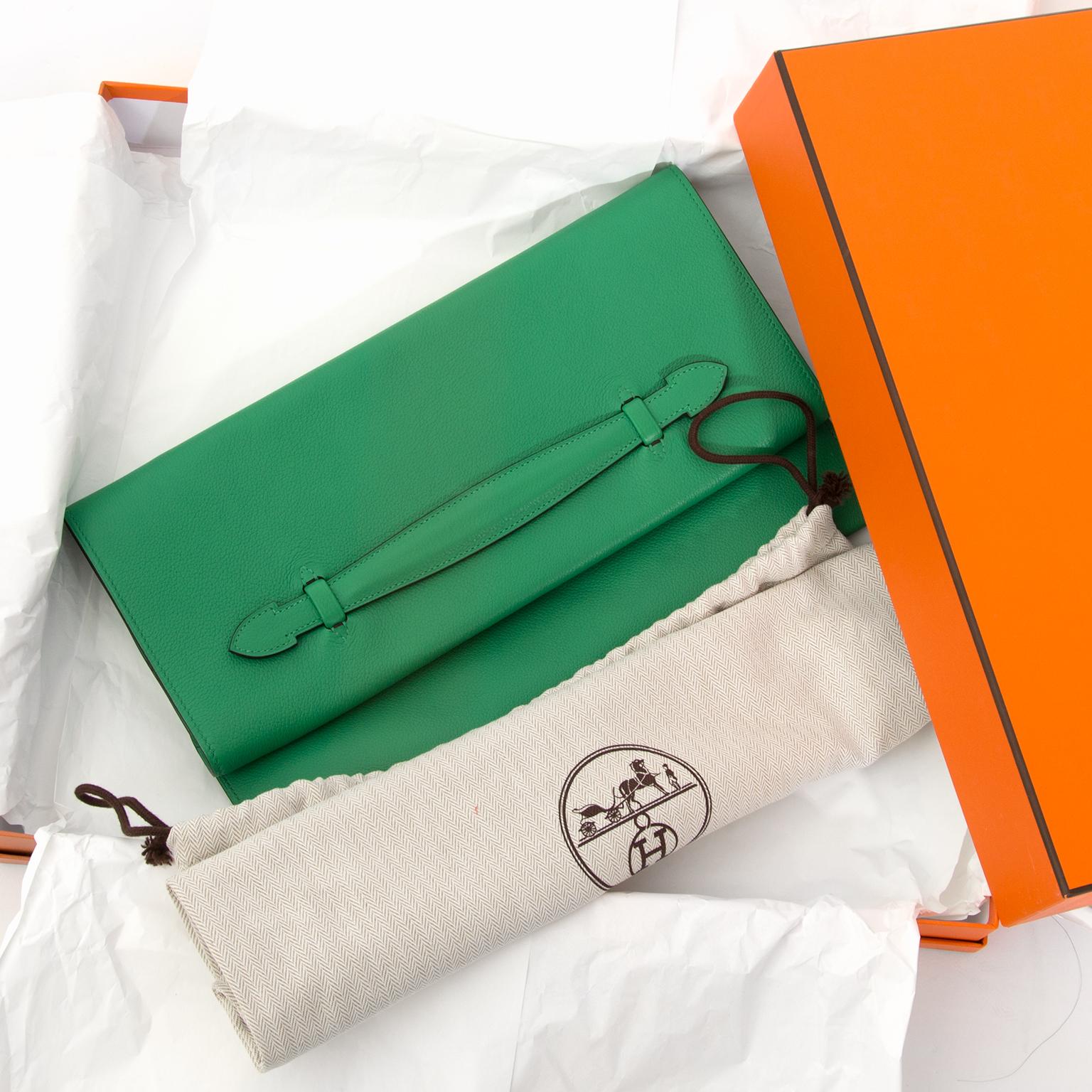 Hermes PliPlat Clutch Vind tweedehands Hermes Clutches bij LabelLOV vintage webshop.