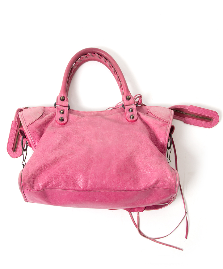 buy safe online secondhand designer vintage Balenciaga city sorbet pink 100  authentic secondhand 2de hands balenciaga city roos kopen aan de beste  prijs ... 3517b21270818