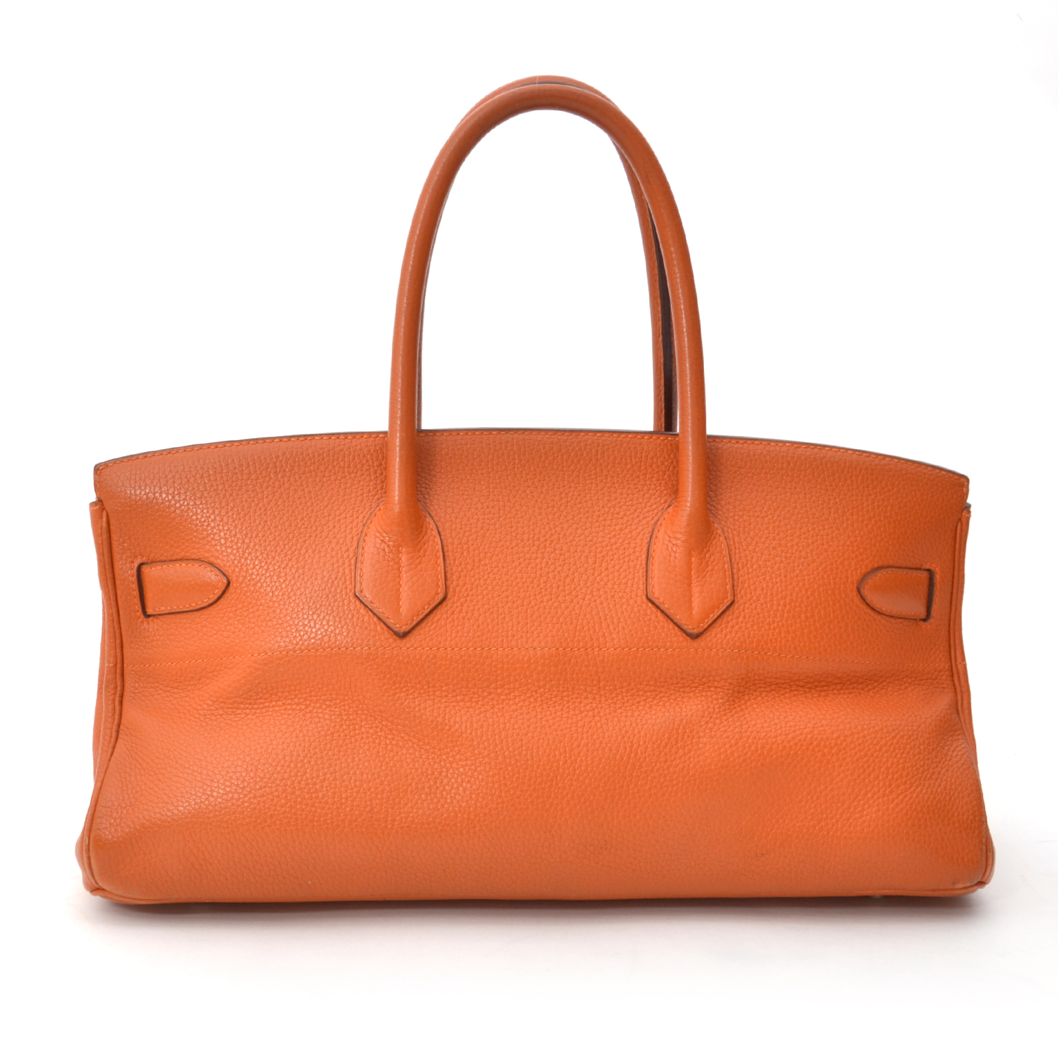 b7533cdaa2a5 Buy and shop safe online at labellov Hermès Birkin Shoulder Bag PHW Pumpkin  Orange european vintage designer reseller labellov offers international  shipping