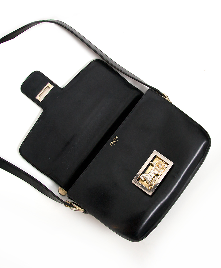 9167aeaf17 ... online Authentic secondhand Celine cross body bag with carriaga buckle  right price labellov webshop designer vintage luxury