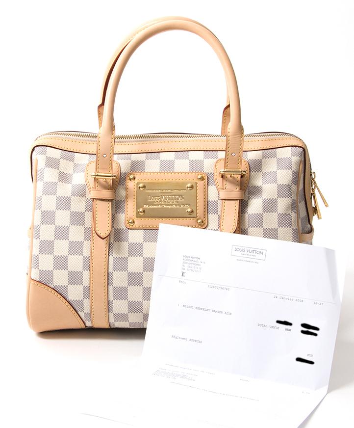 2b55b423238d ... acheter en ligne seconde main Louis Vuitton Damier Berkeley pour le  meilleur prix site en ligne