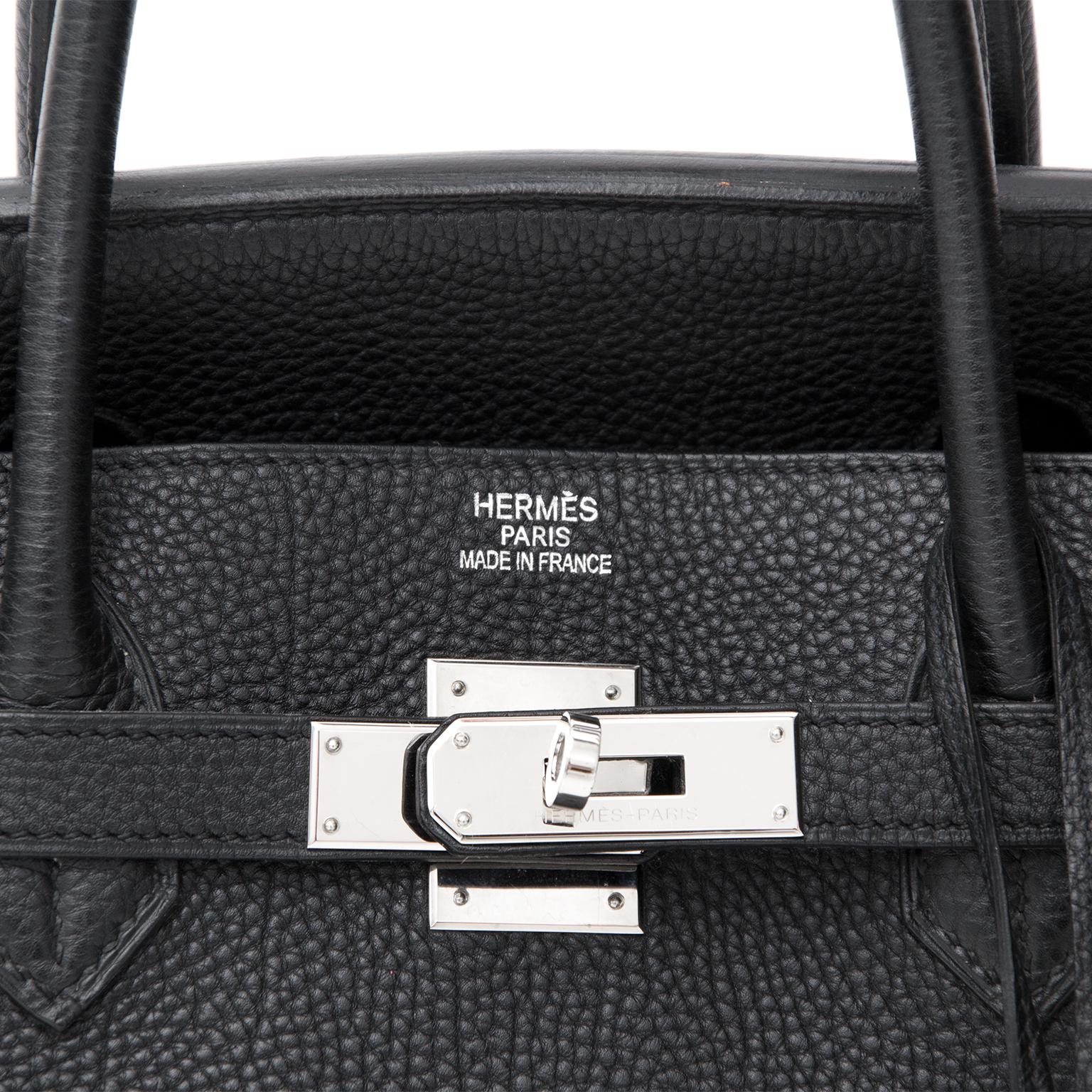 e1c78f306f1 ... noir 2163f d1182 discount koop veilig online tweedehands hermès birkin  bag 40 black togo phw b2932 f995e ...