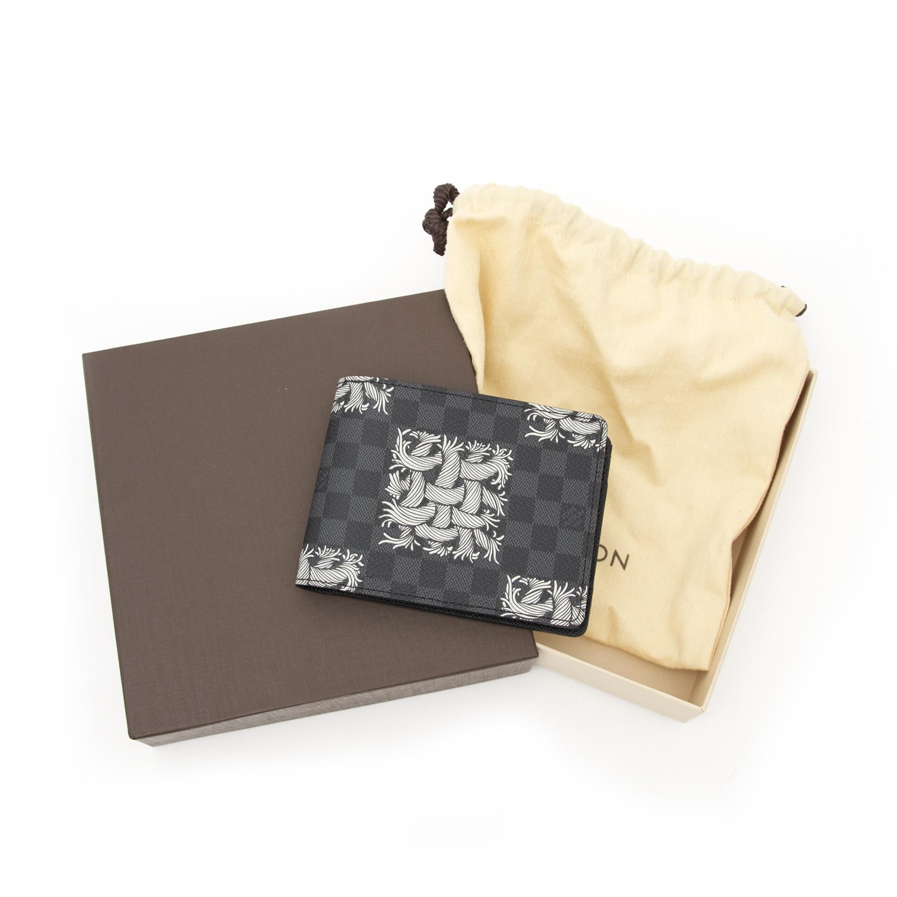 buy your Louis Vuitton Damier Graphite Nemeth Multiple Men Wallet
