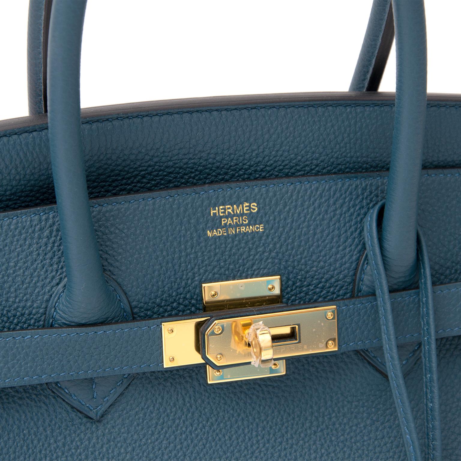 koop veilig online tweedehands Brand New Hermes Birkin 35 Togo Colvert GHW  aan de beste prijs acheter safe et secure sac a main Brand New Hermes Birkin  35 ... b480c3c3c7f0f