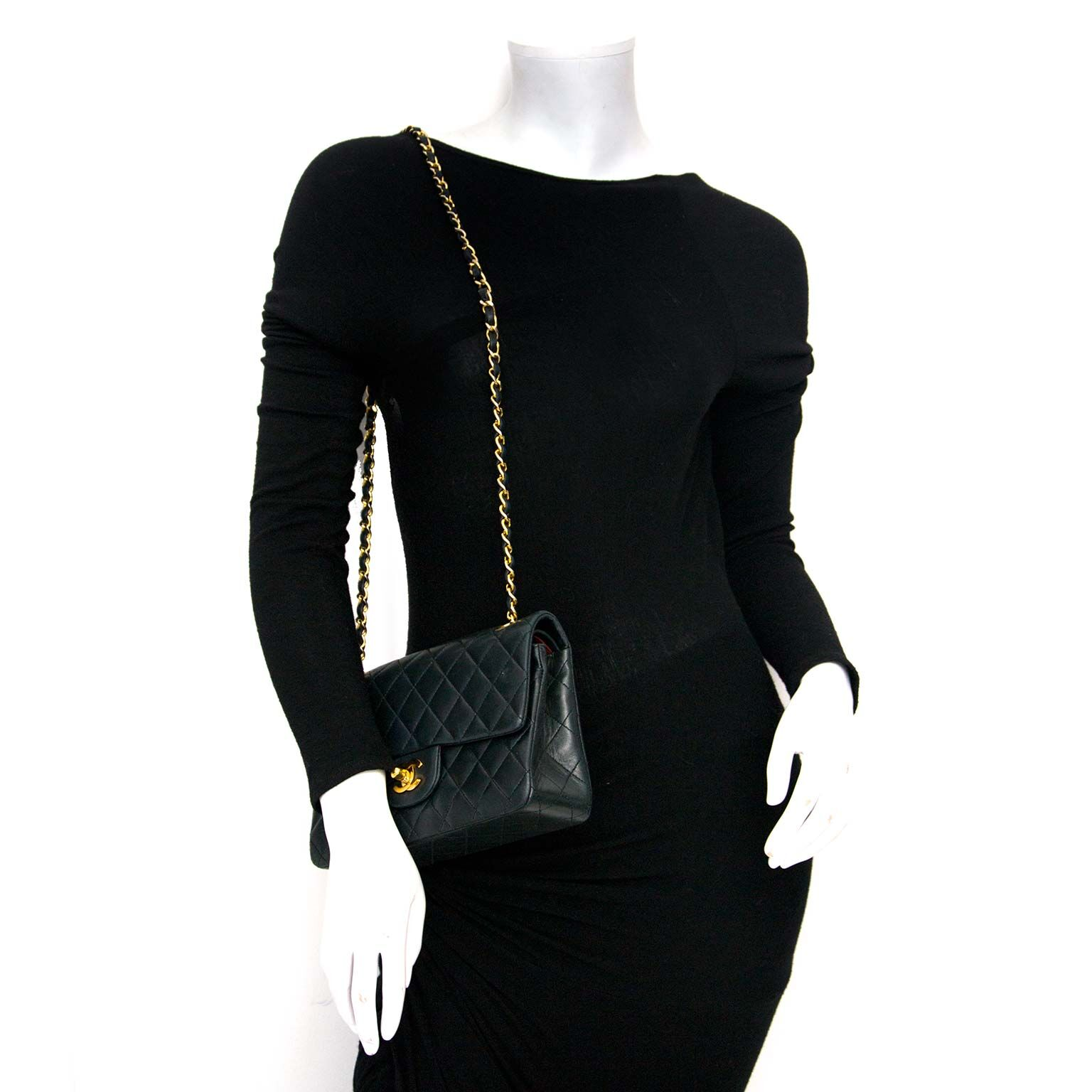 authentic chanel double flap bag for sale