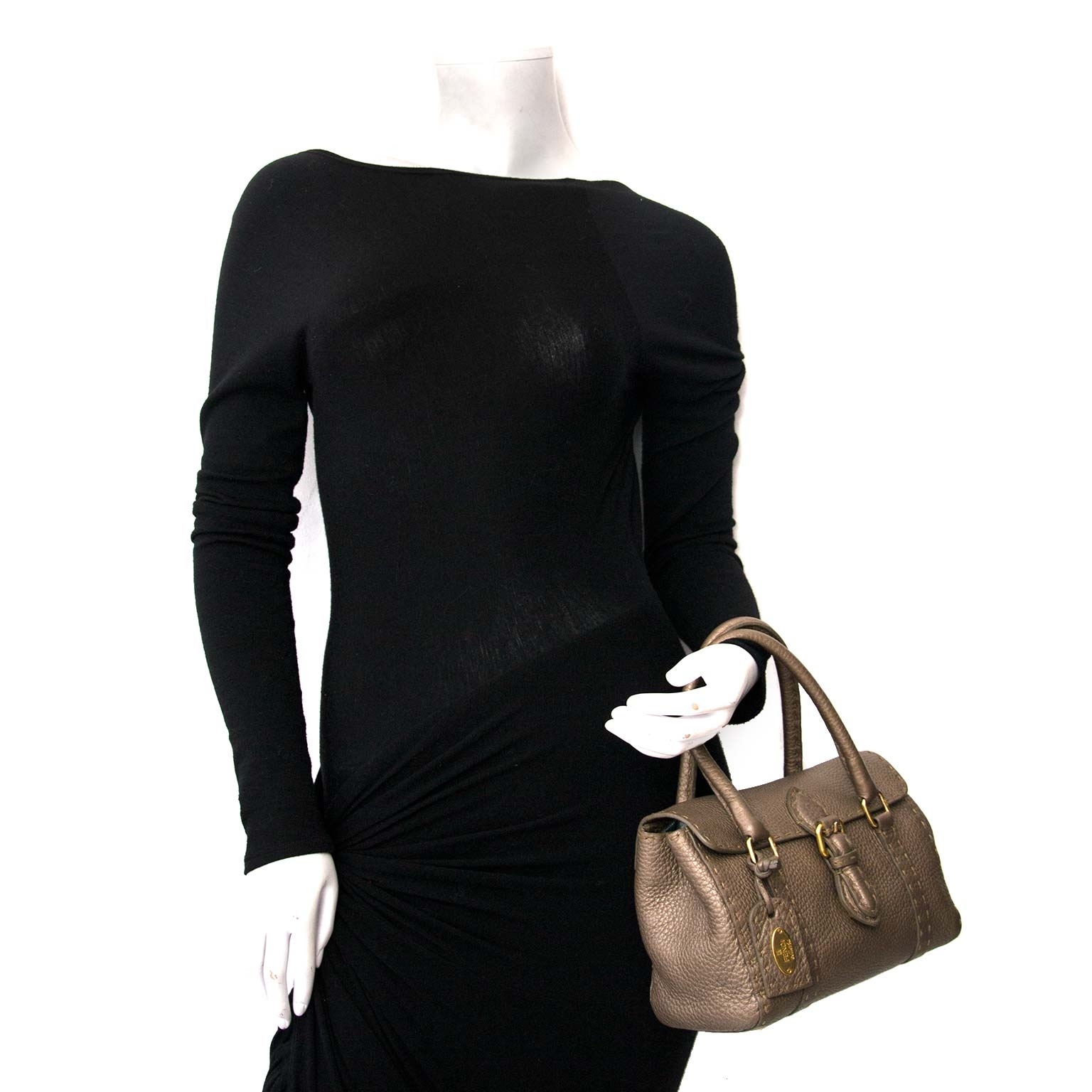 Interested in an authentic Fendi Bronze Selleria Bag?