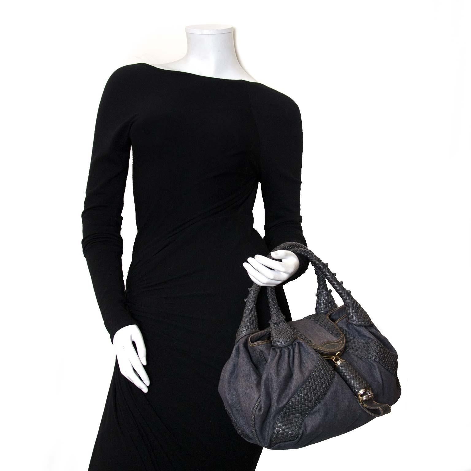 573b6e6fa9 ... fendi denim spy tassen te koop bij labellov vintage mode webshop belgië