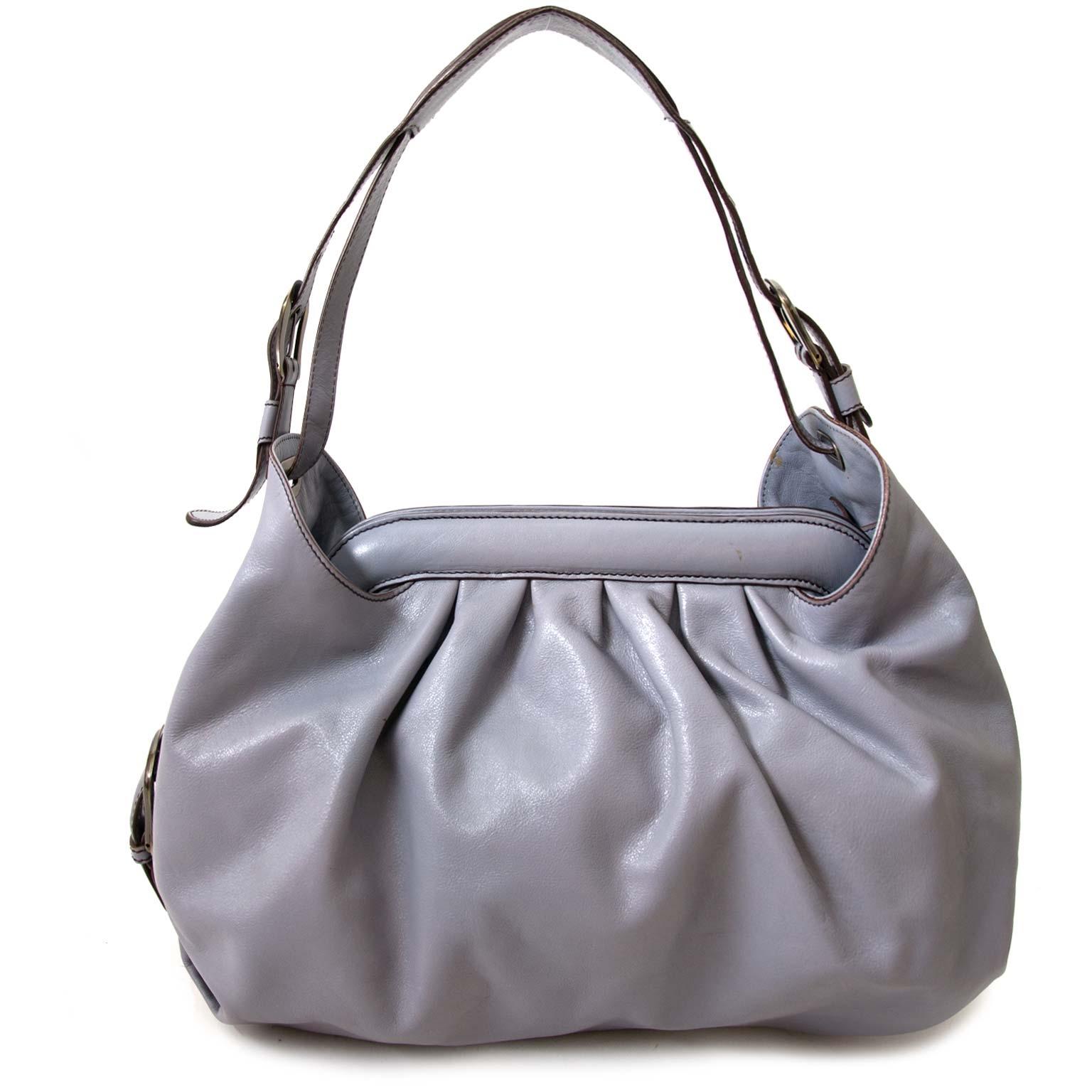98648a6280 ... koop authentieke fendi grijs blauw dokter tas bij labellov vintage mode  webshop