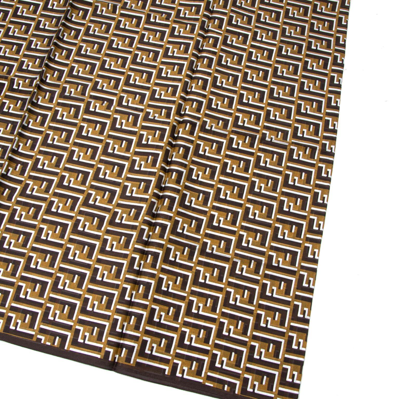Beautiful Fendi scarf now for sale at labellov.com
