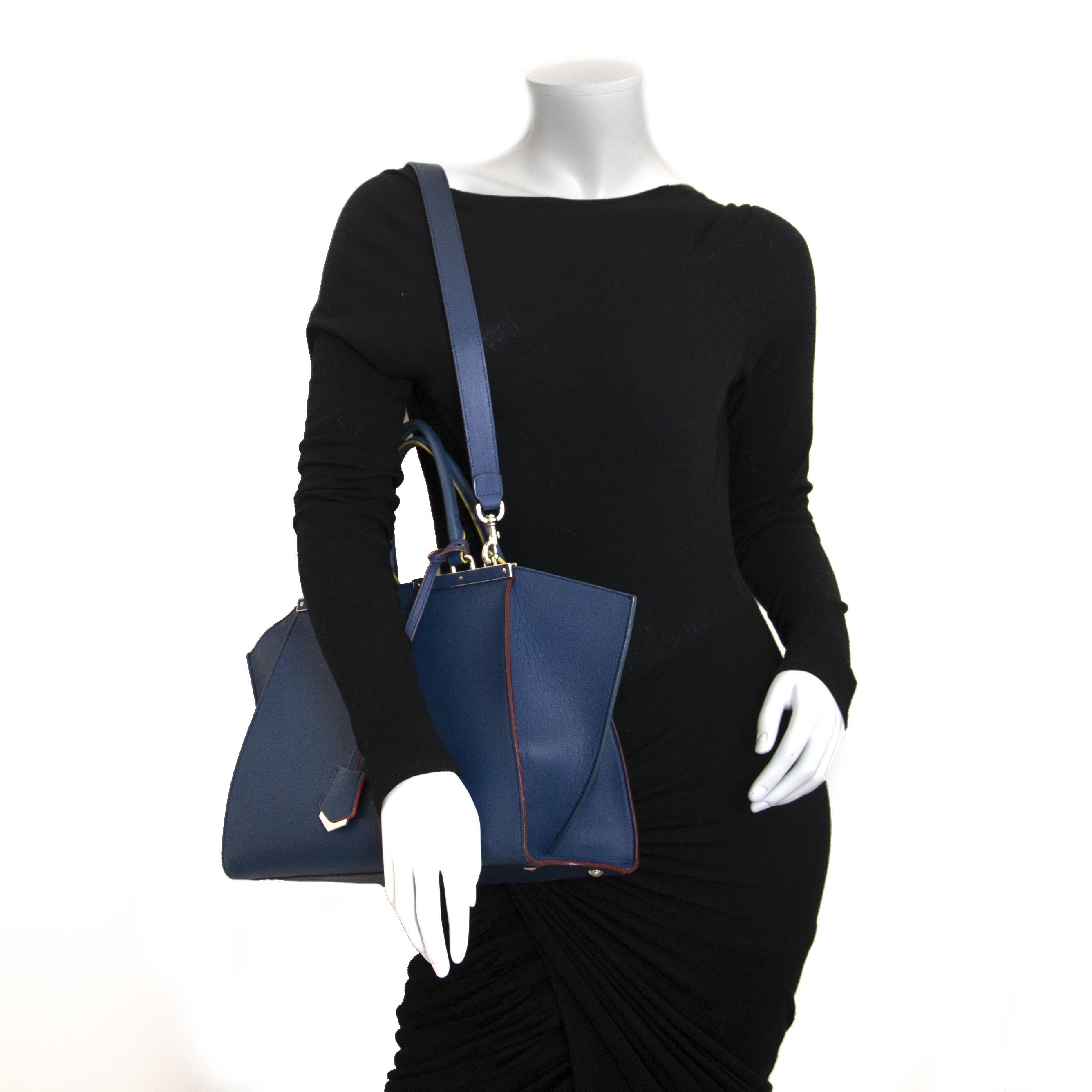 Fendi 3Jours Medium Tote Bag now for sale at labellov vintage fashion webshop belgium