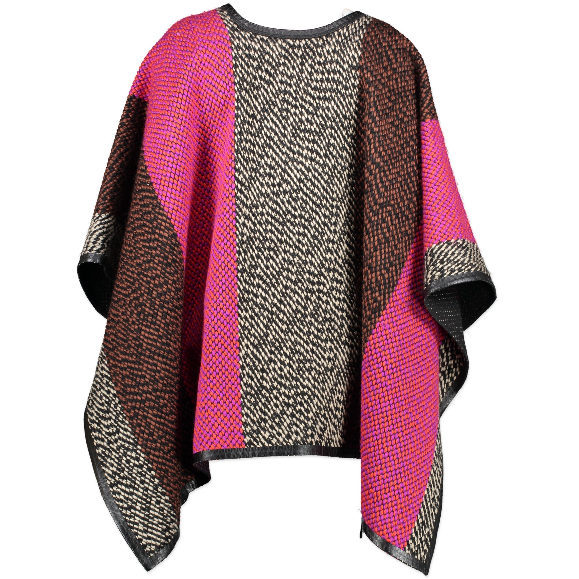 We buy and sell your authentic designer Fendi Wool Multicolor Cape - IT40 for the best price