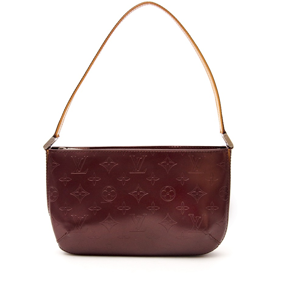 Louis Vuitton Mat Fowler Monogram Vernis for the best price online available at Labellov