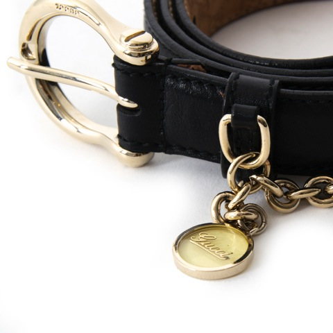 acheter comme neuf Gucci black Belt  best price wordwide shipping