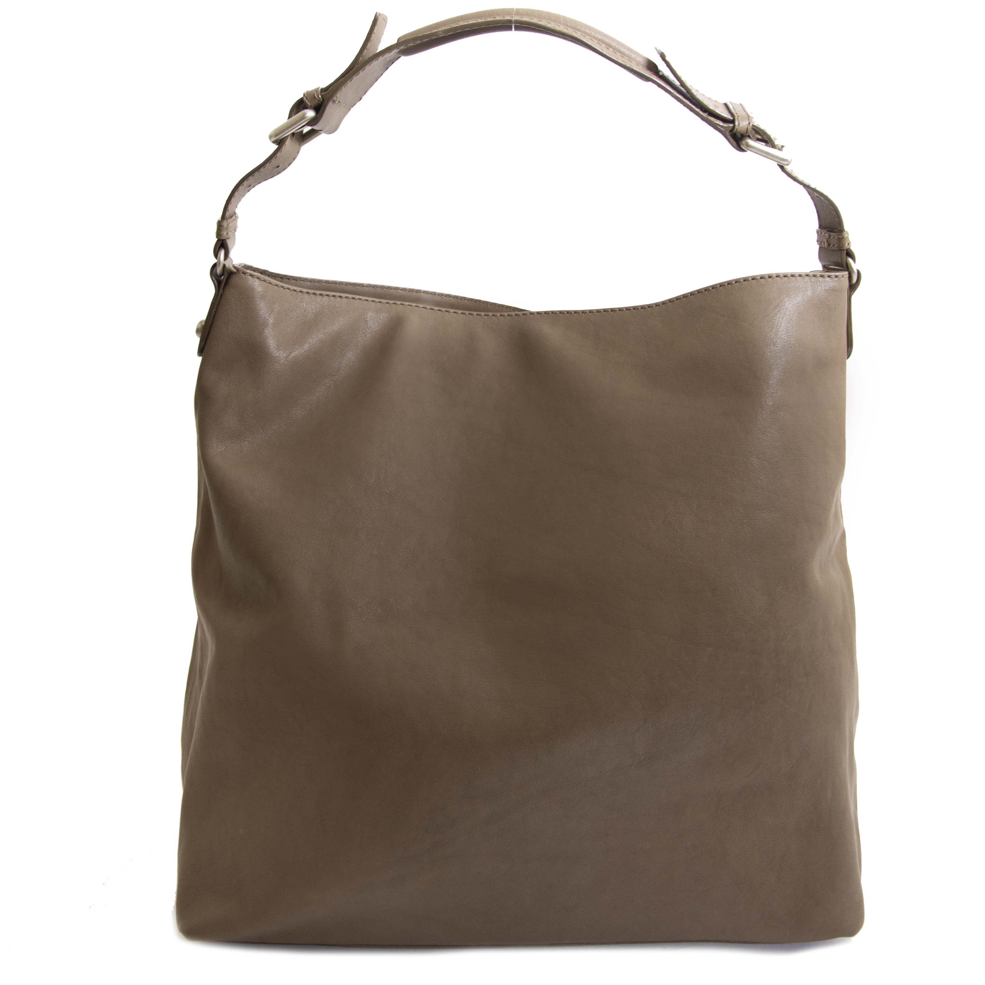 GF Ferré Taupe Shoulder Bag. GF Ferré Taupe Shoulder Bag.