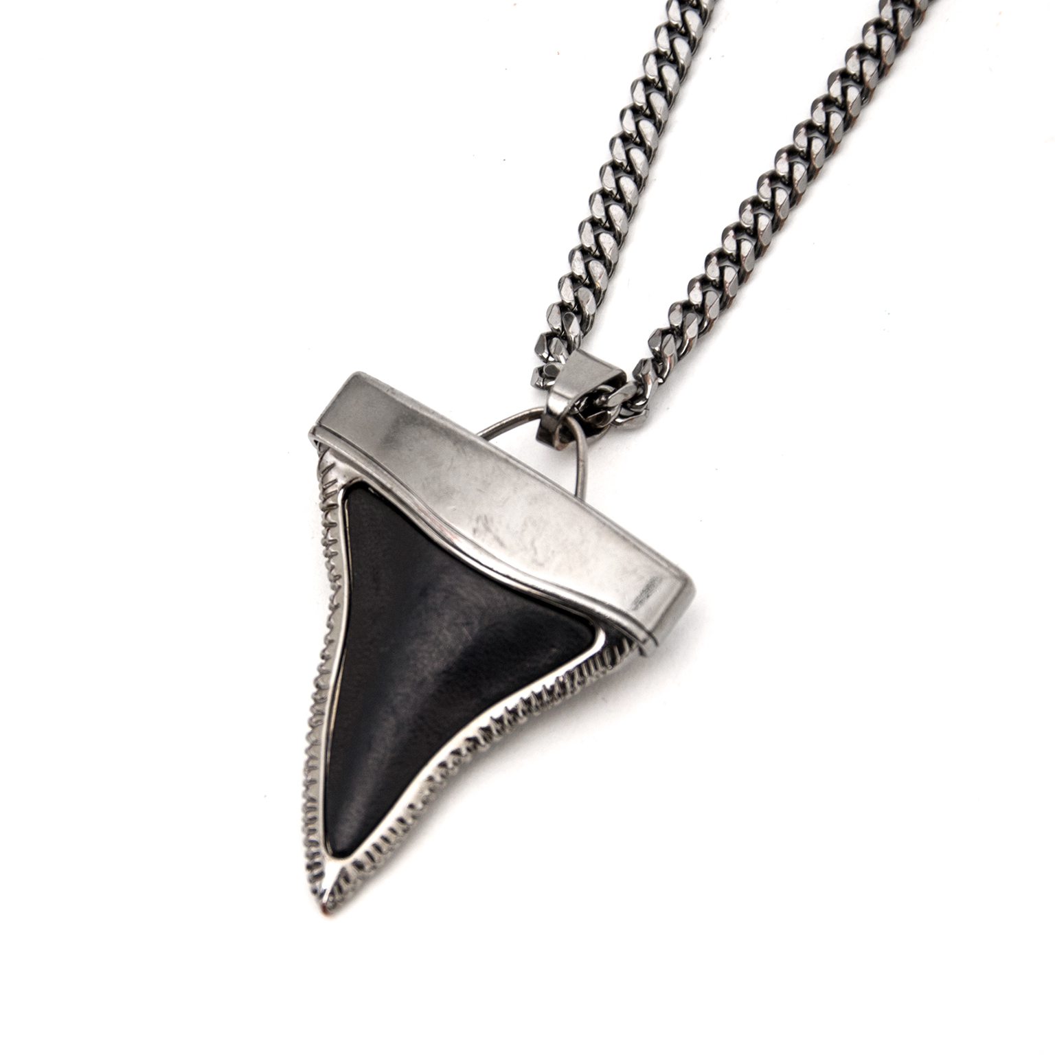 Buy now safe and secure an Authentic Givenchy Shagreen Shark's Tooth Necklace now on www.labellov.com at the best price in 2017