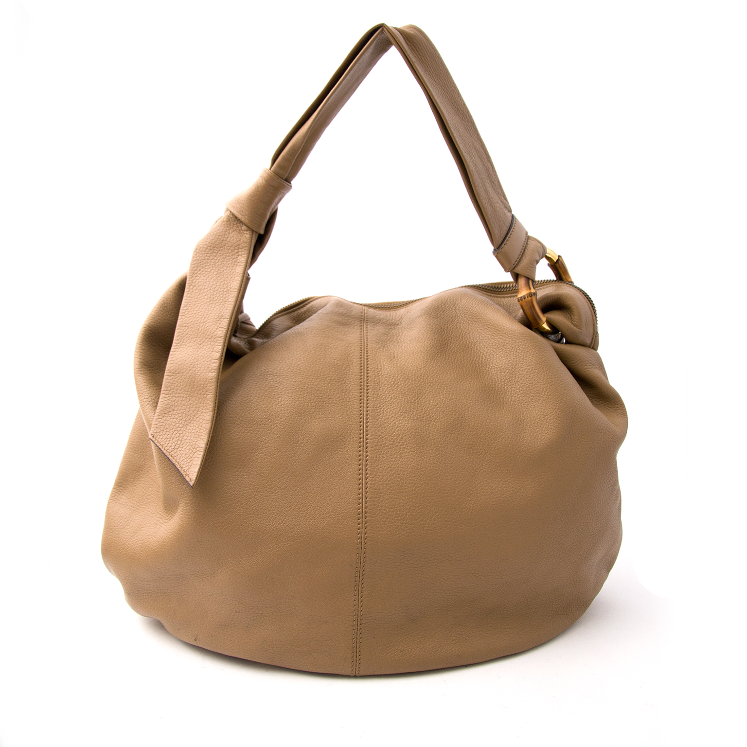 Acheter secur en ligne votre Gucci Bamboo Sand Hobo Bag pour le meilleur prix