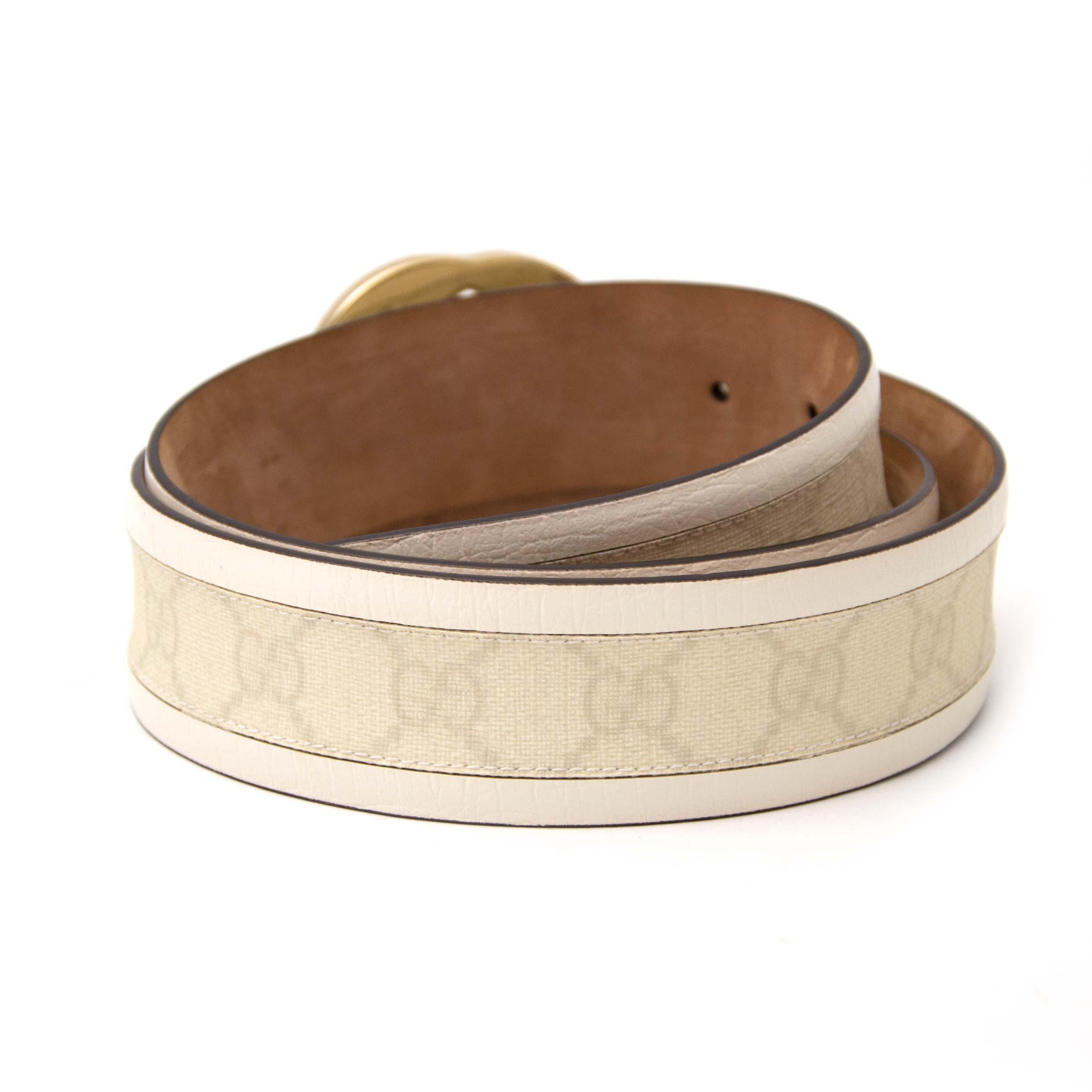 Gucci monogram ceinture nu bij labellov.com tegen de beste prijs