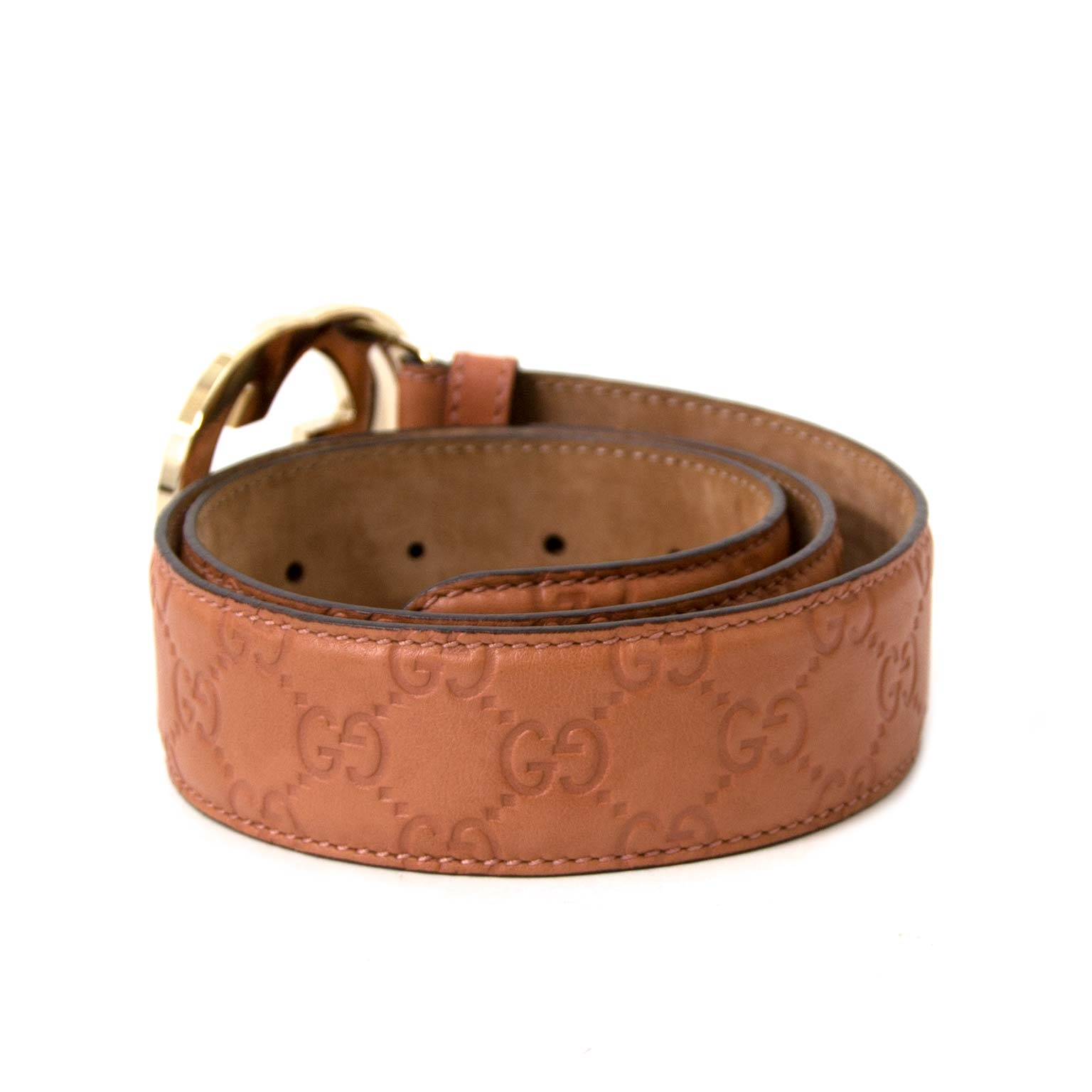 Buy authentic Gucci belts at labellov vintage fashion webshop