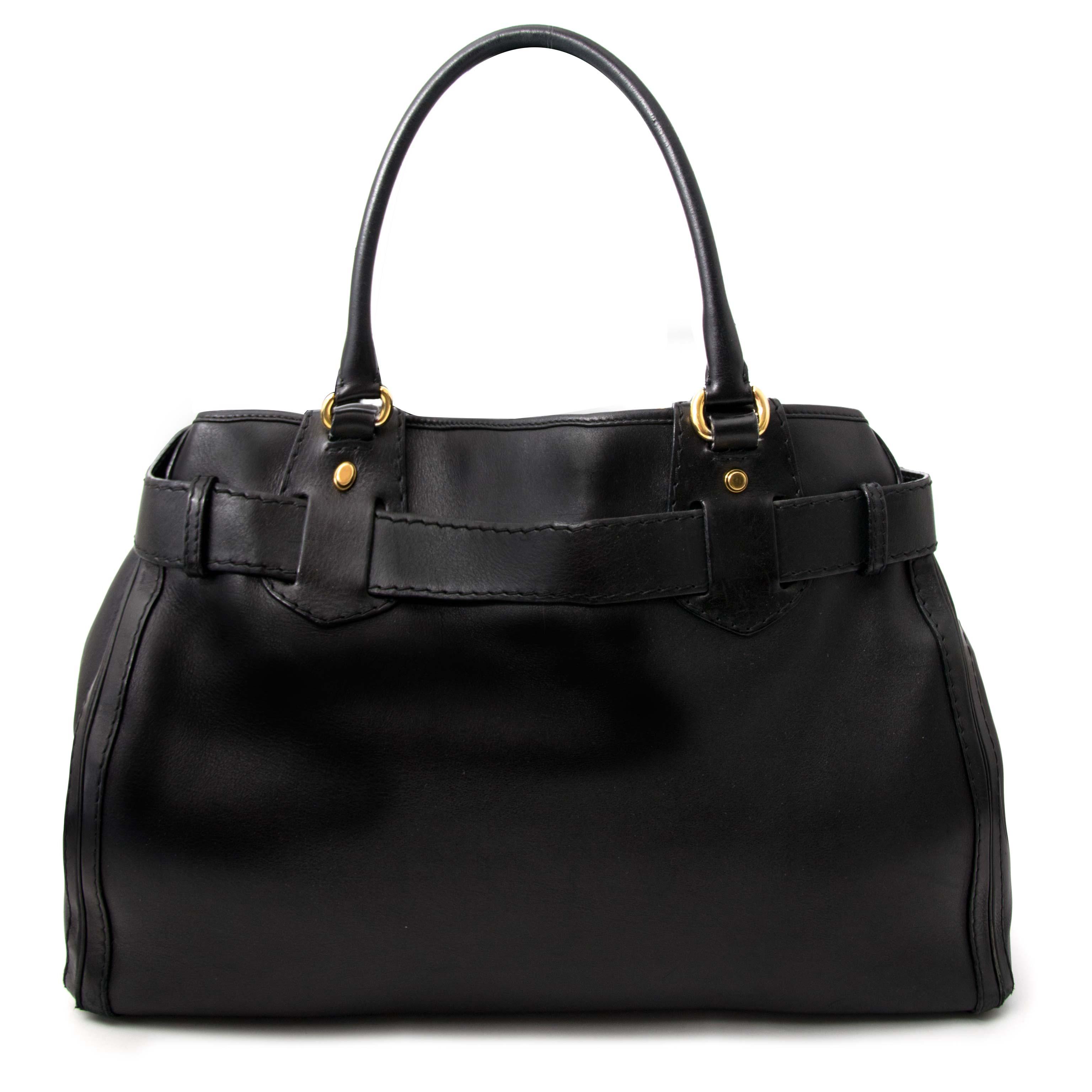 Authentic secondhand Gucci back black Labellov Acheter authentique Gucci sac  à main 5ffc90f9ca0