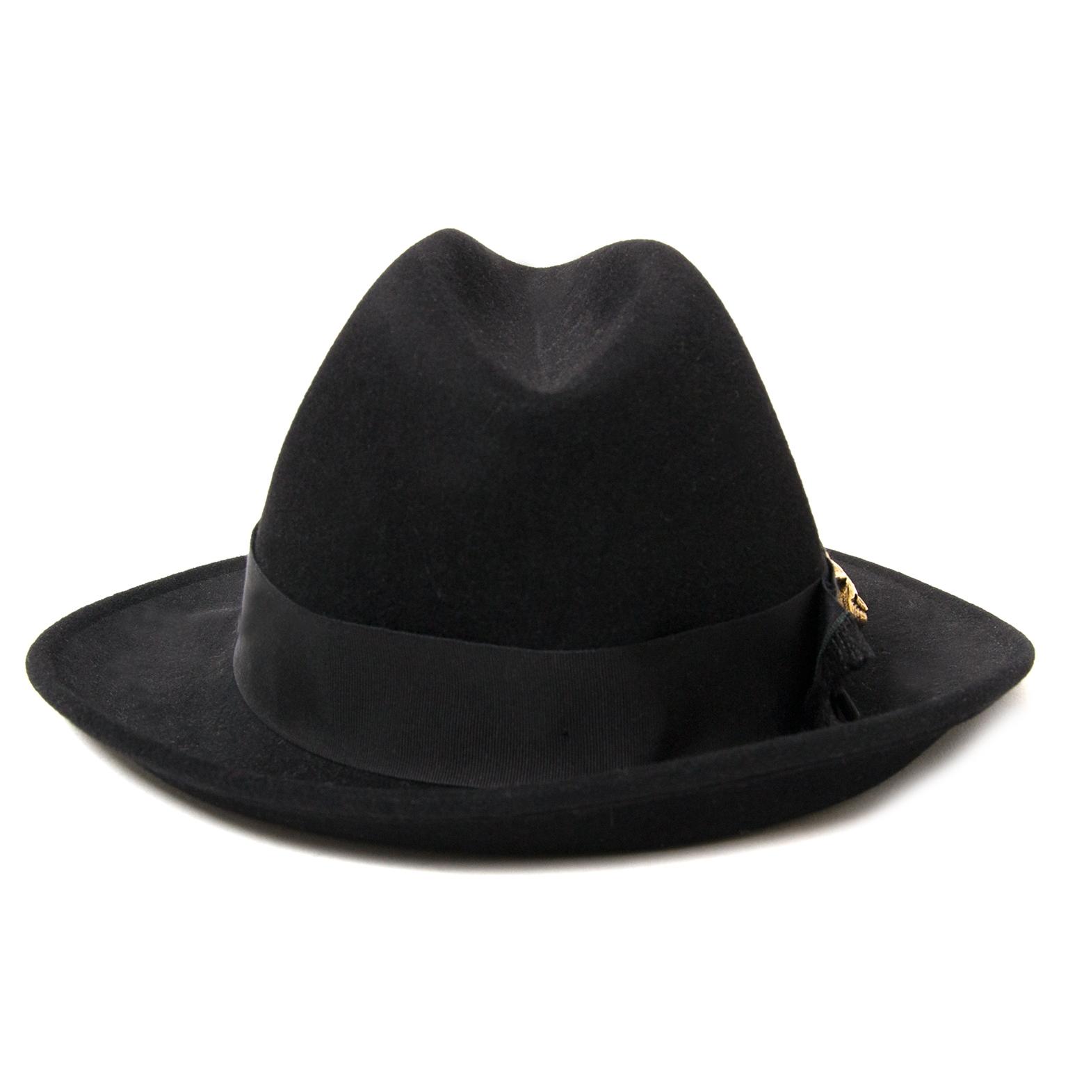 Koop en verkoop uw authentieke Gucci Black Wool Felt Hat