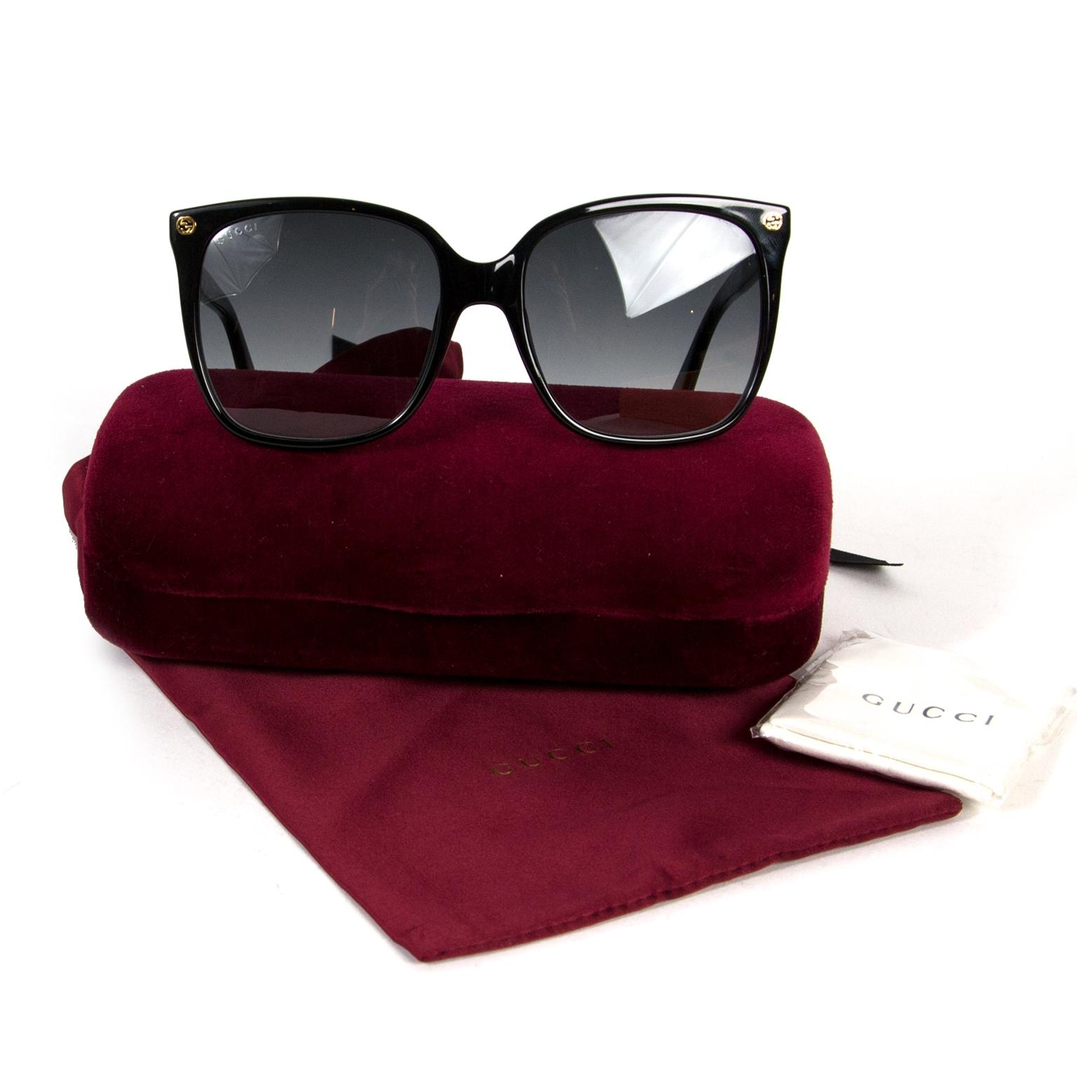 Koop en verkoop uw authentieke Gucci Black Sunglasses