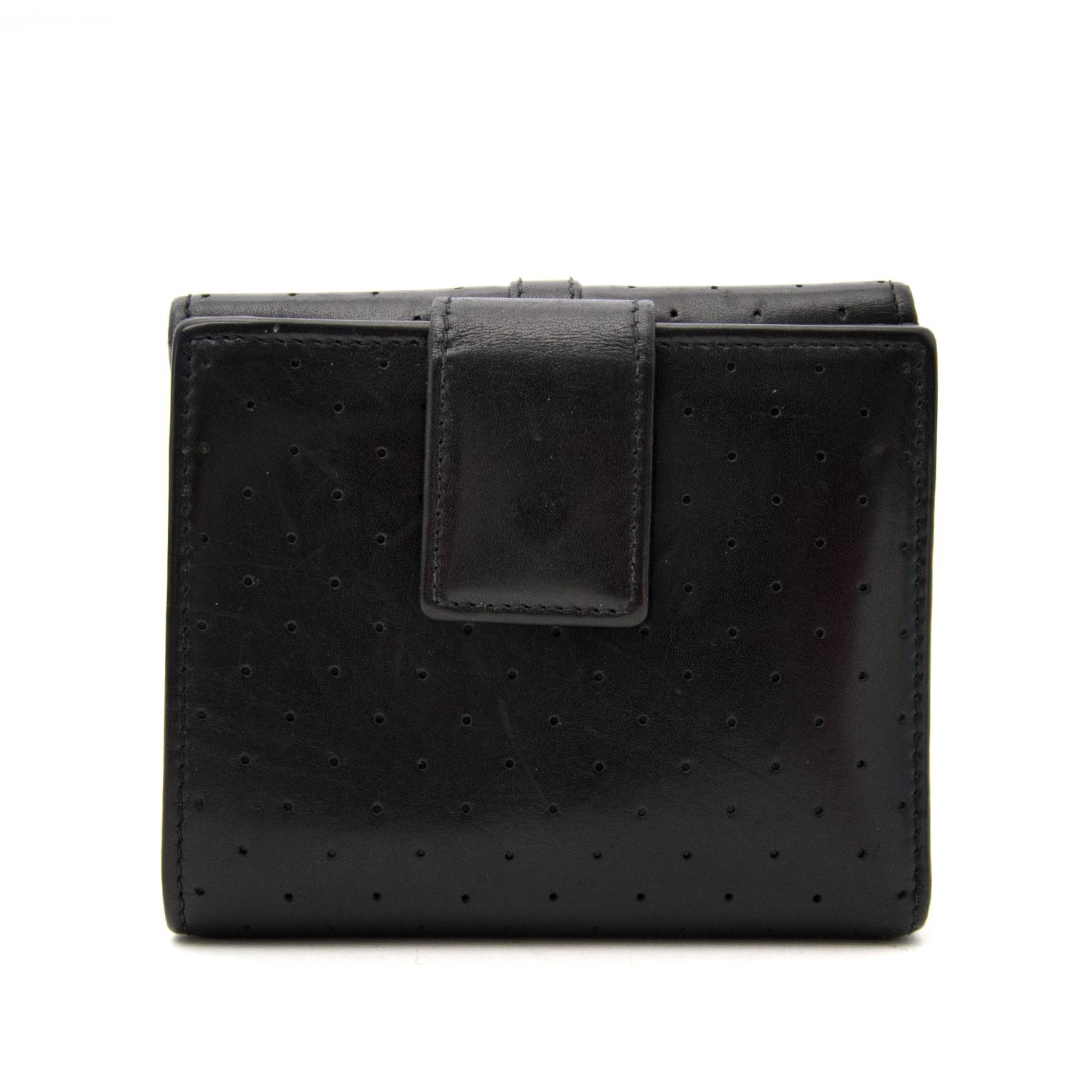 Zwarte Lederen Gucci Portemonnee nu online op labellov.com tegen de beste prijs.