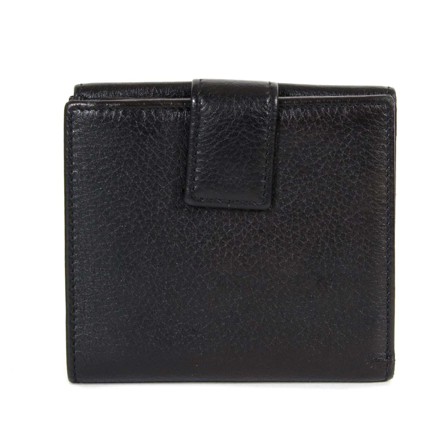 ac34c833ee76 ... koop Gucci Black Bamboo Bi-Fold Wallet en betaal veilig online