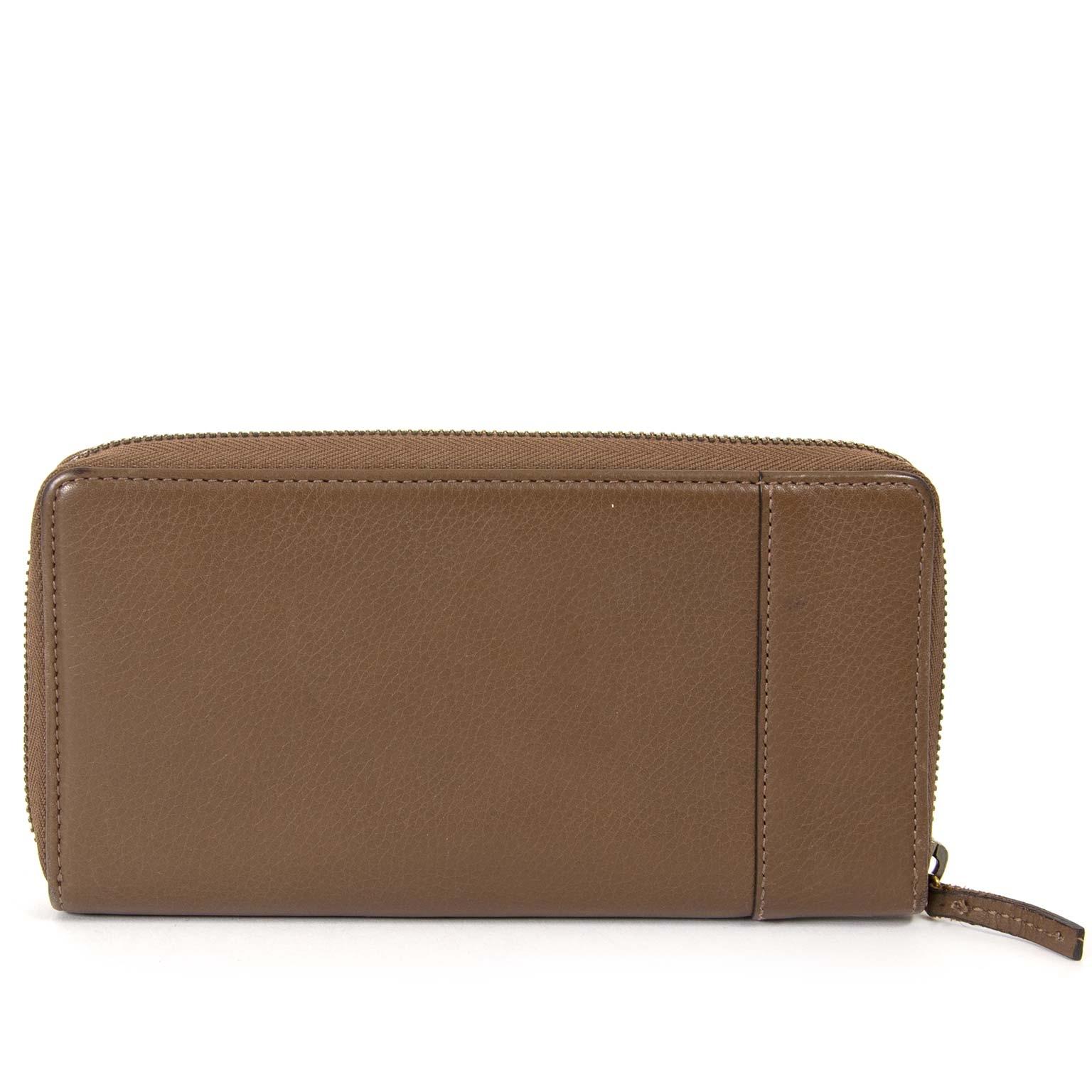6e4922a6133 ... te koop bij labellov vintage mode webshop belgië gucci brown  interlocking g wallet now for sale at labellov vintage fashion webshop  belgium