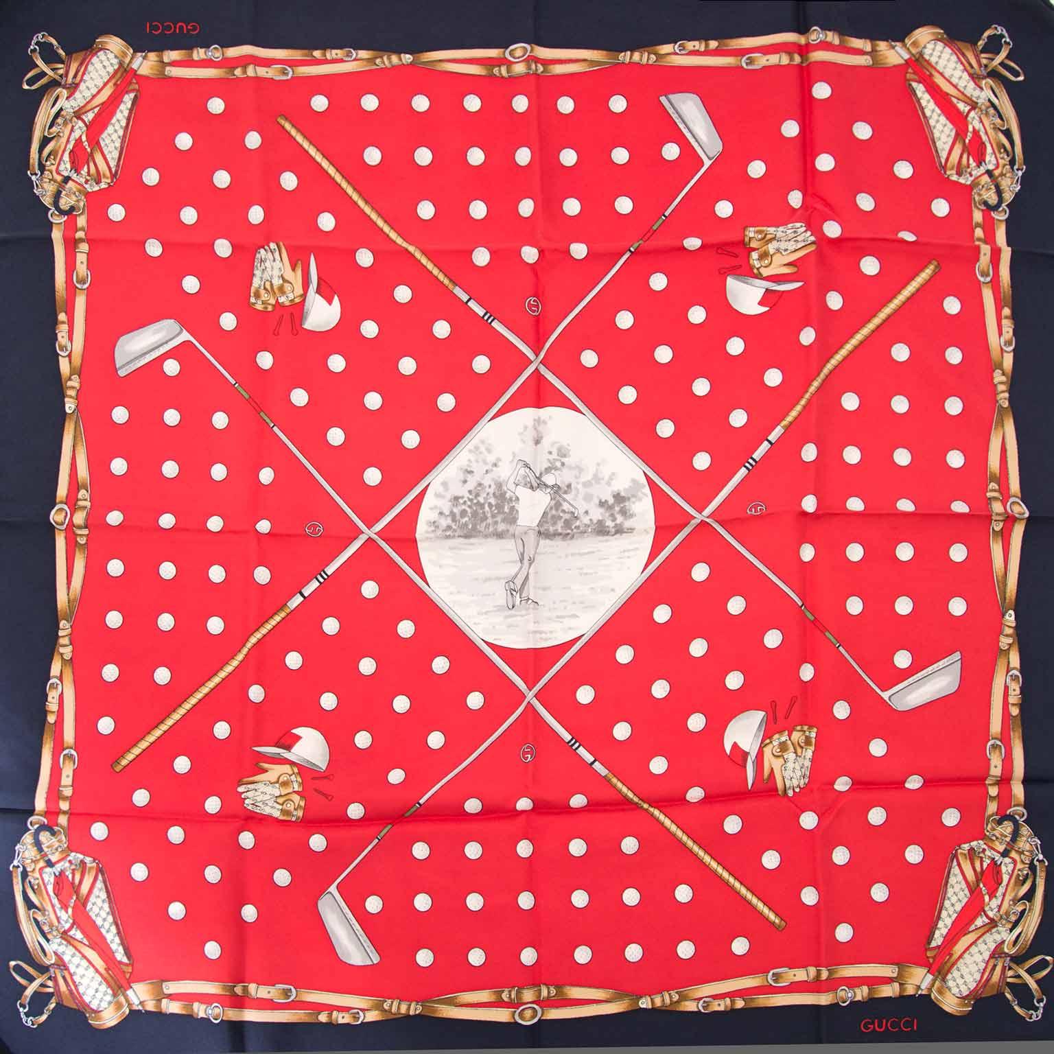 Gucci zijde sjaal te koop bij labellov.com tegen de beste prijs
