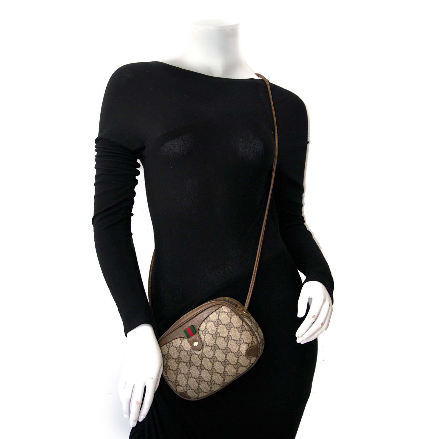 Gucci Vintage GG Monogram Mini Supreme Crossbody Bag