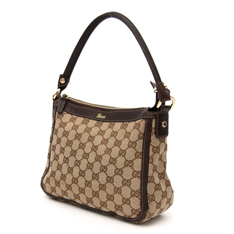 Buy your Gucci Monogram Canvas Bag for the best price on Labellov secondhand designer consignment store online