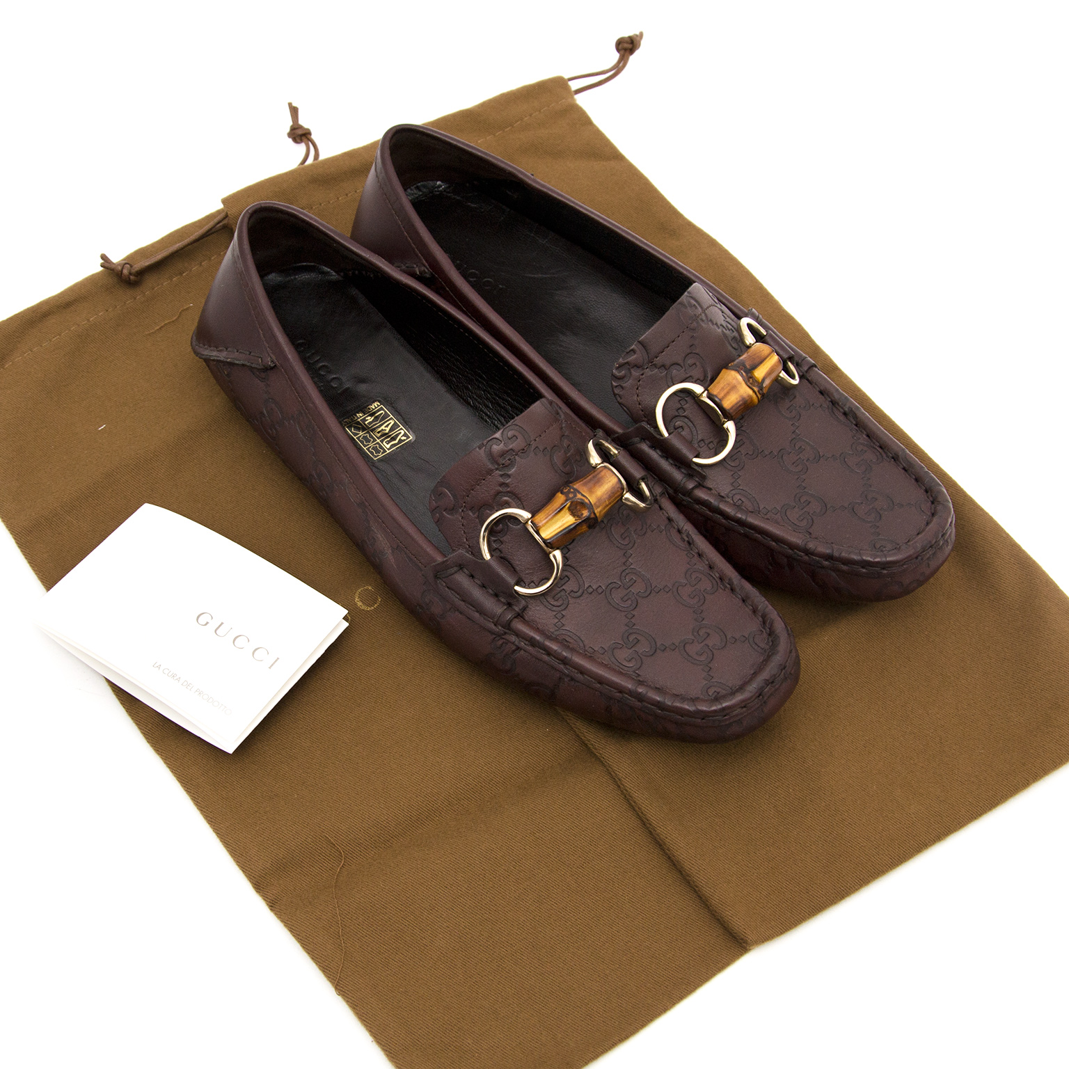 Gucci Monogram Loafers for sale at Labellov.com