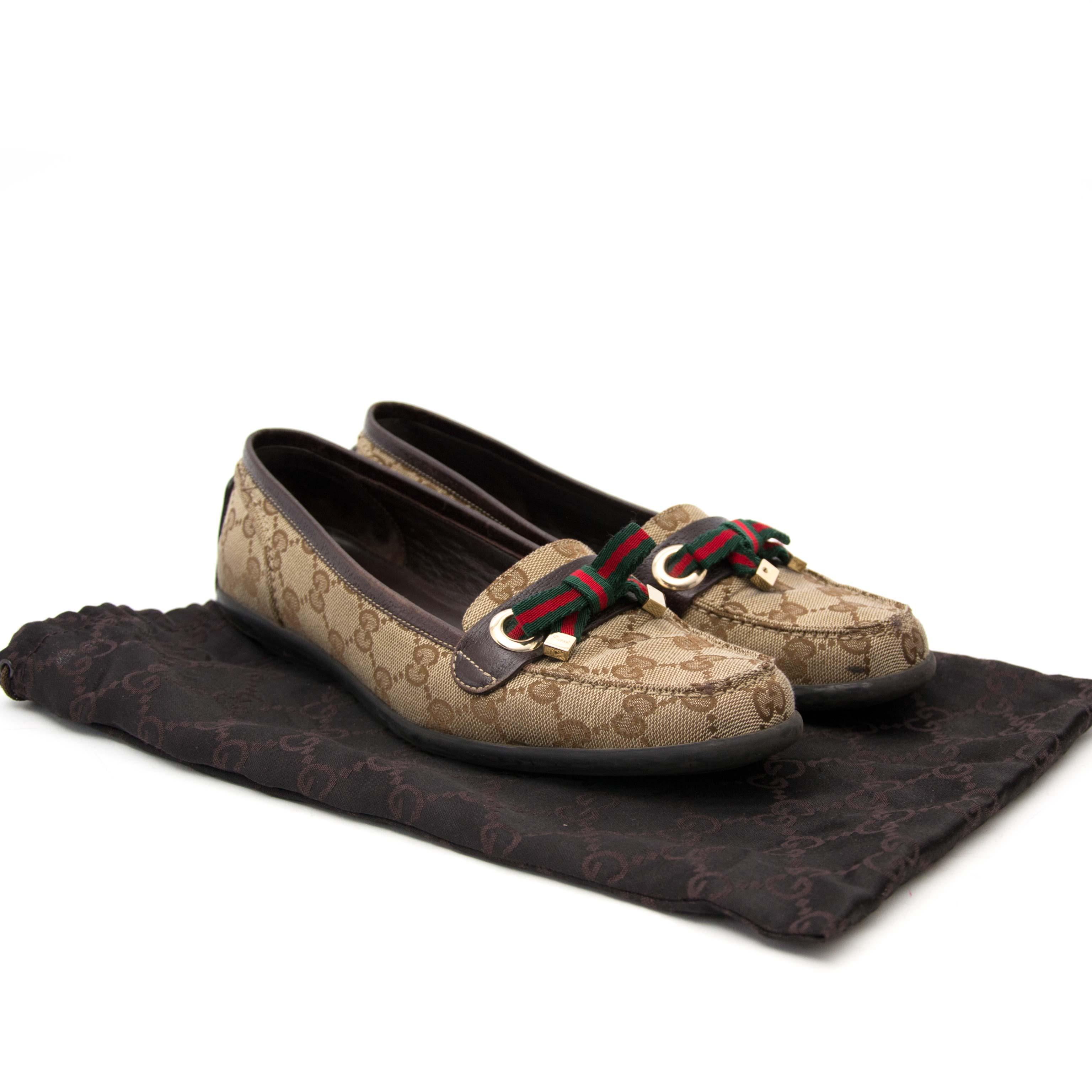 Acheter en ligne pour le meilleur prix Gucci Monogram Loafers