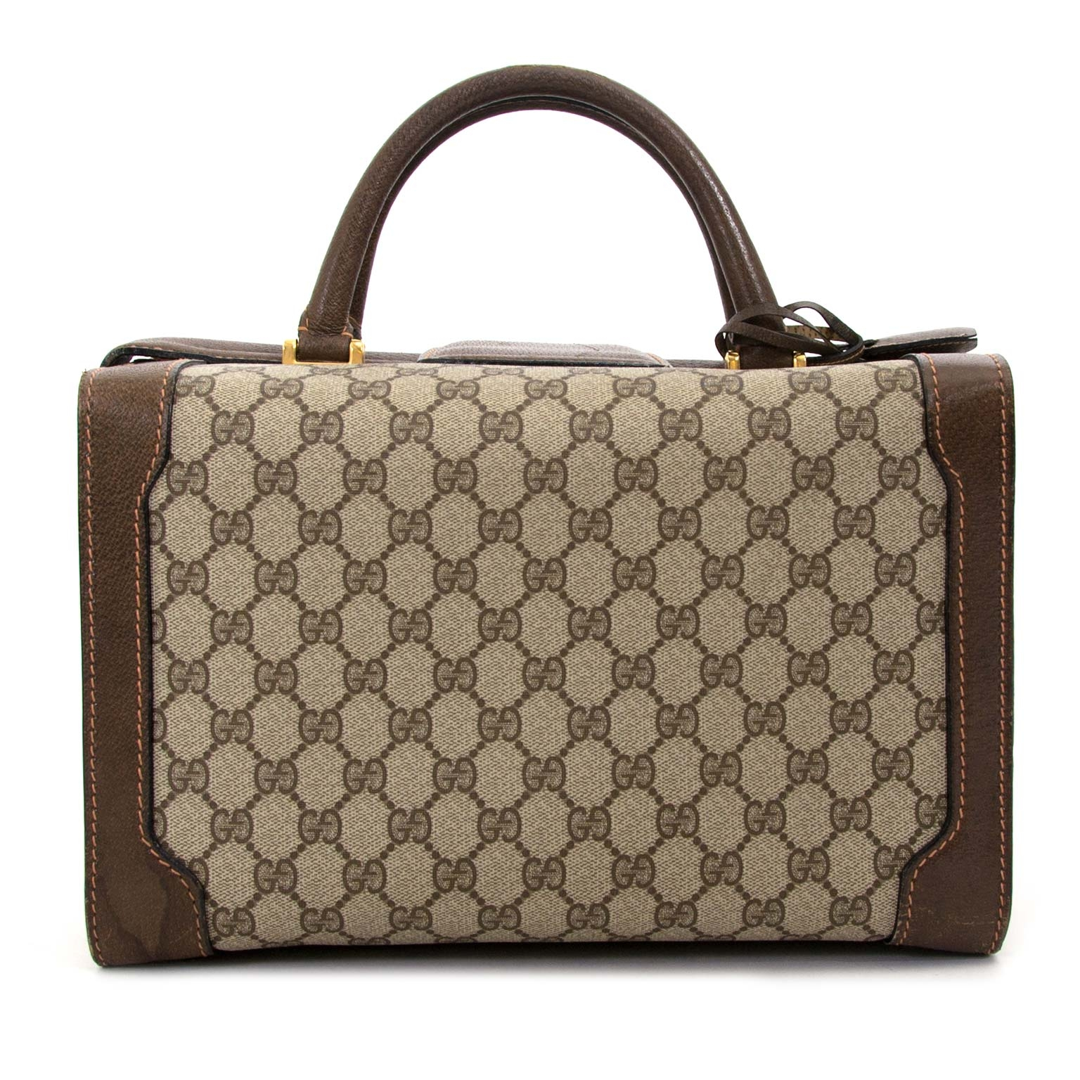 gucci monogram travel beautycase now for sale at labellov vintage fashion webshop belgium
