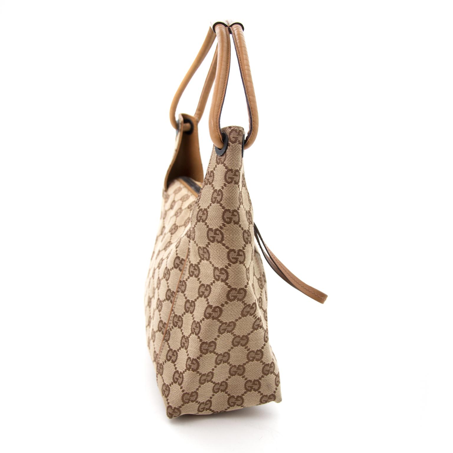 Buy a secondhand Gucci Monogram Shoulder Bag online