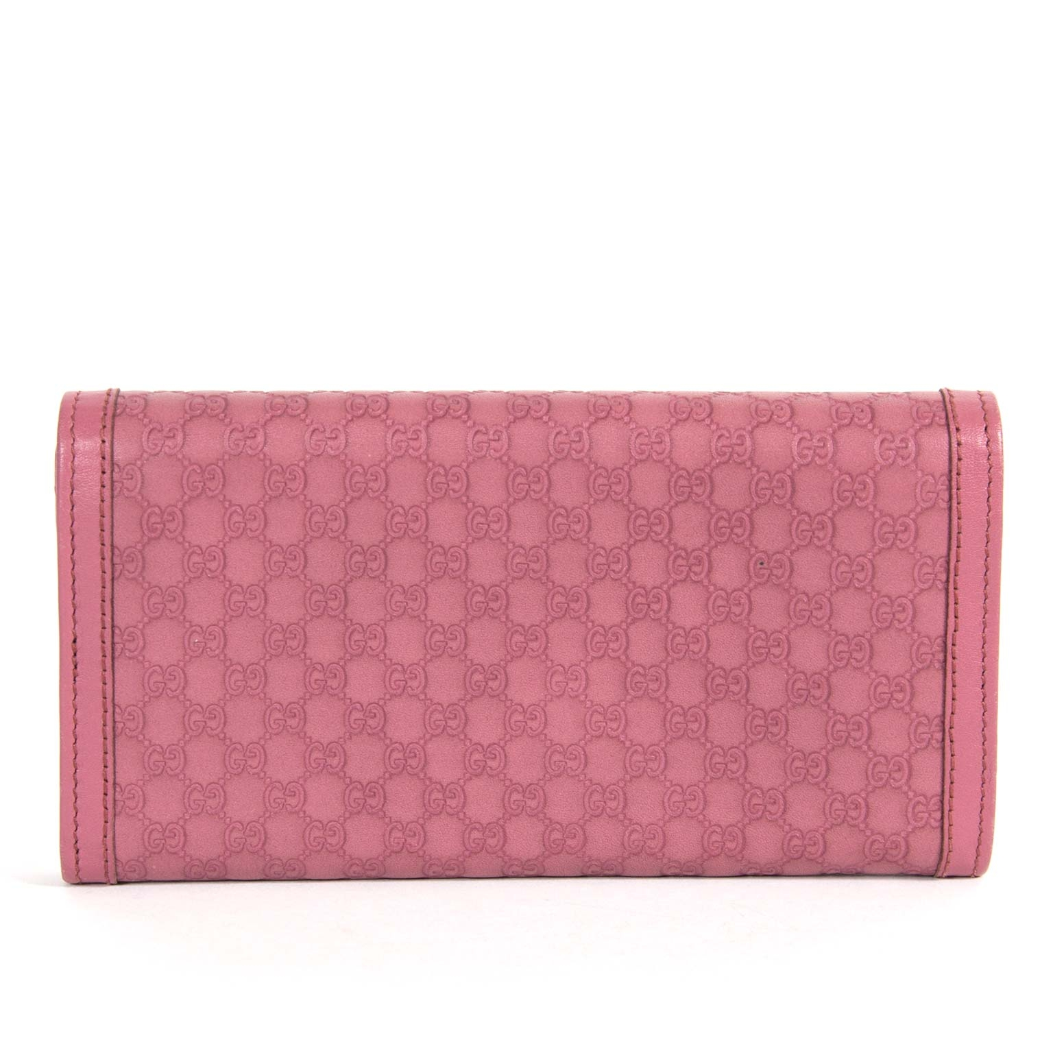 9534f5596891 ... gucci interlocking g monogram pink continental wallet now for sale at  labellov vintage fashion webshop belgium